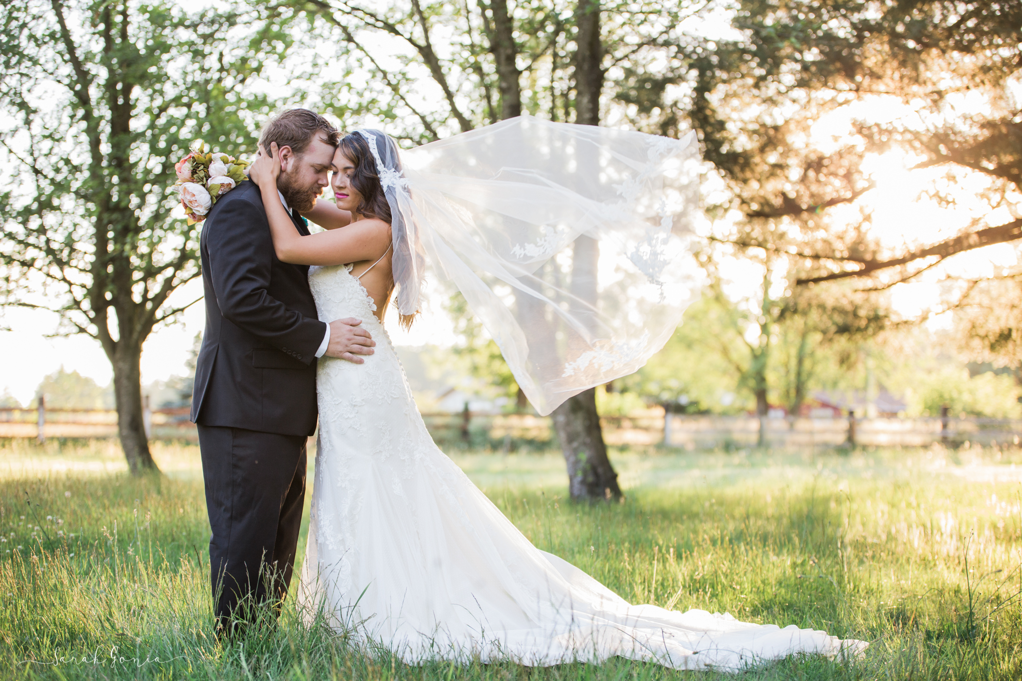 Gorgeous wedding dress by New Beginnings Bridal Studio