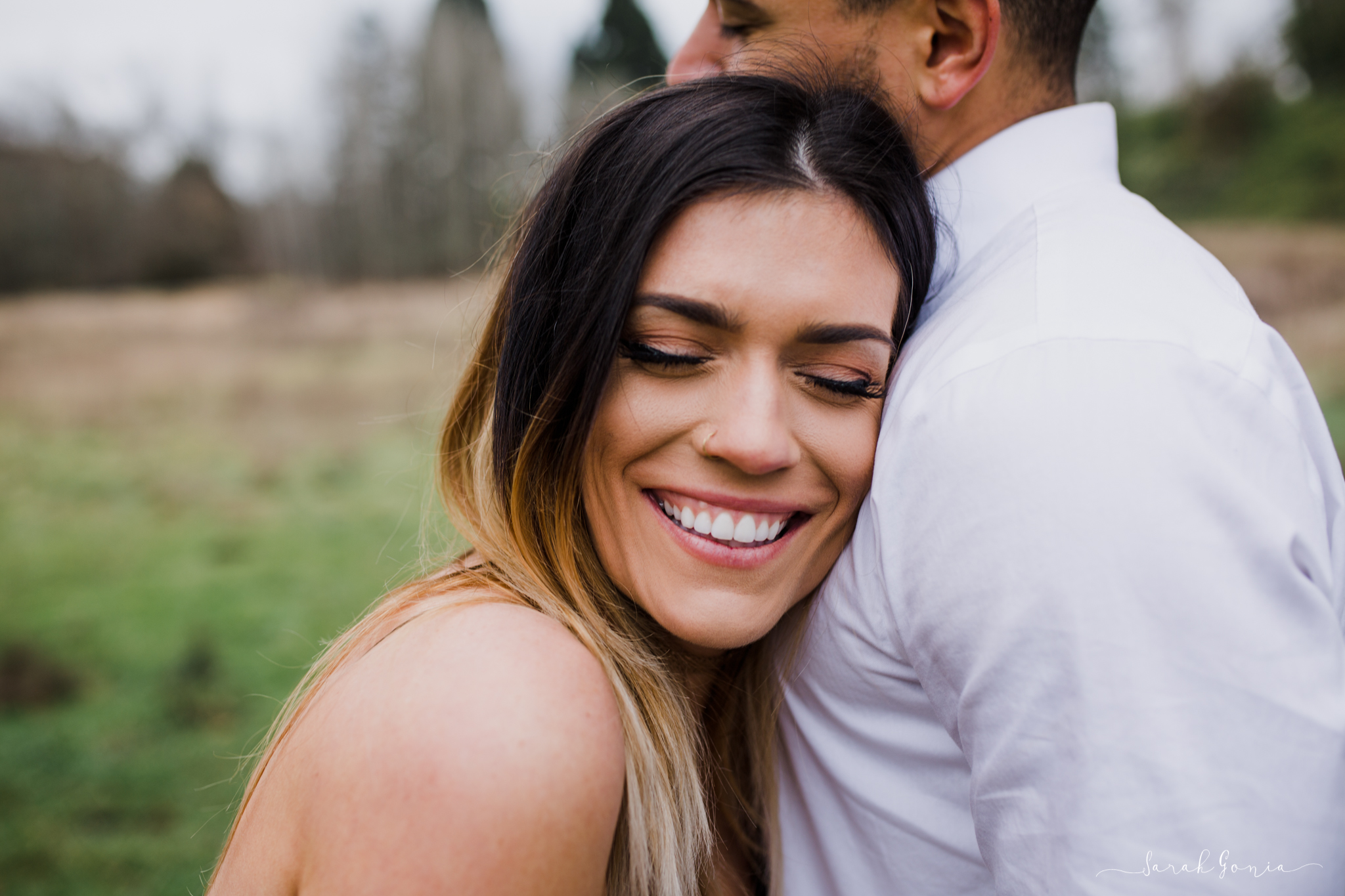 Olympia Photographer Engagement, Love Stories and Weddings Smiles