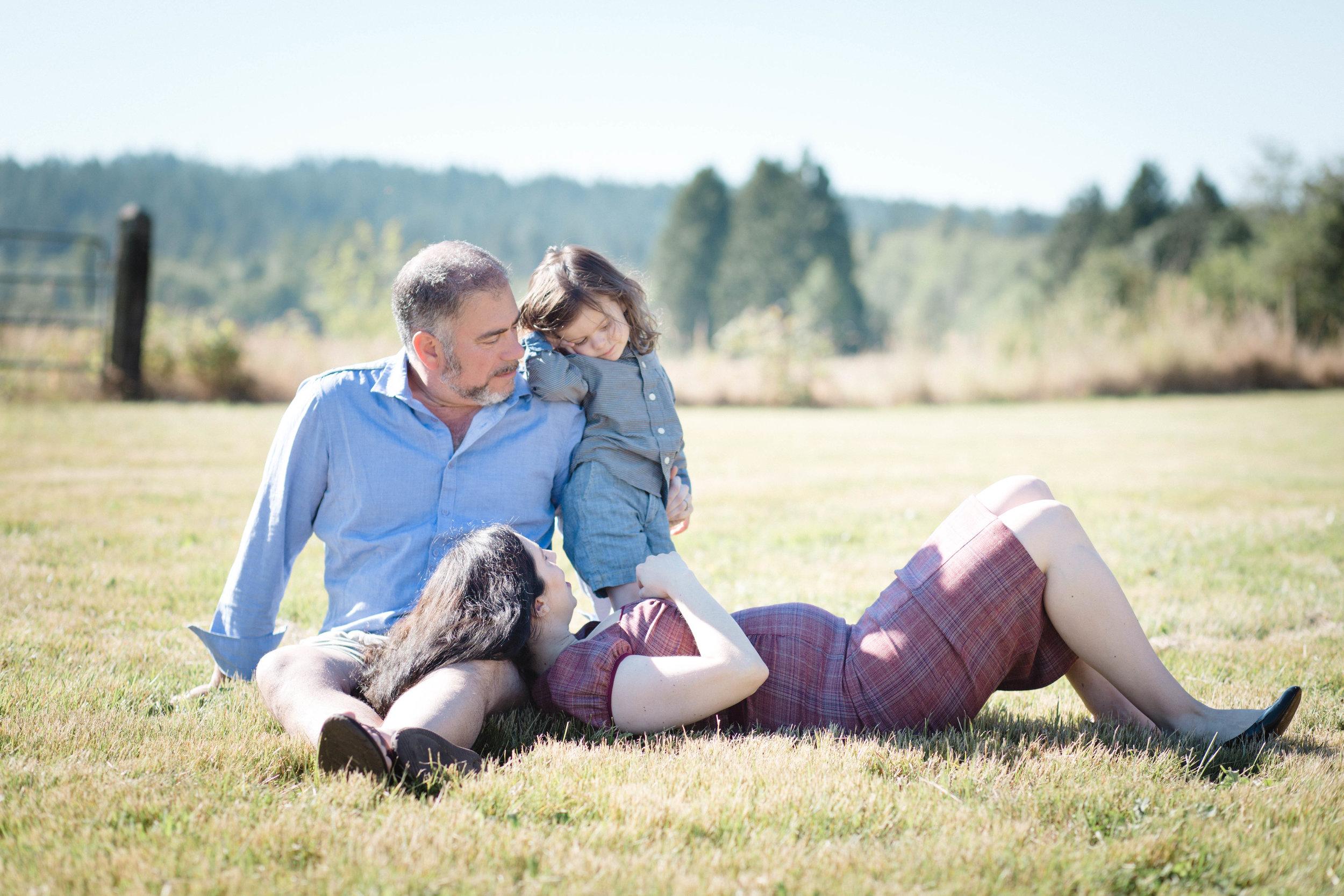 Family Portrait | Evergreen Valley Lavender Field