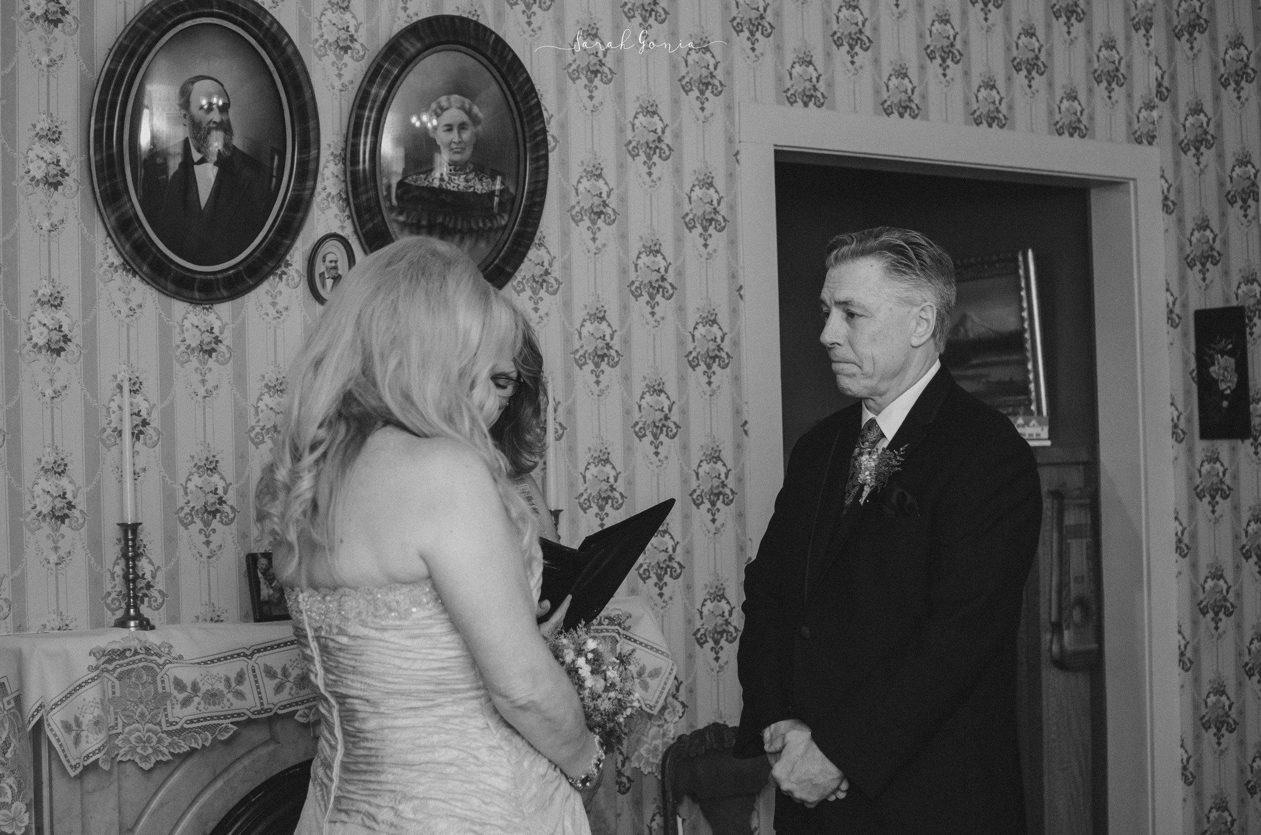 Bigelow House Museum Elopement | Olympia Wedding PhotographerBigelow House Museum Elopement | Olympia Wedding Photographer