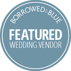Hooray! - Kelly + Robert's wedding is featured on the fabulous wedding site, Borrowed & Blue. Check it out!