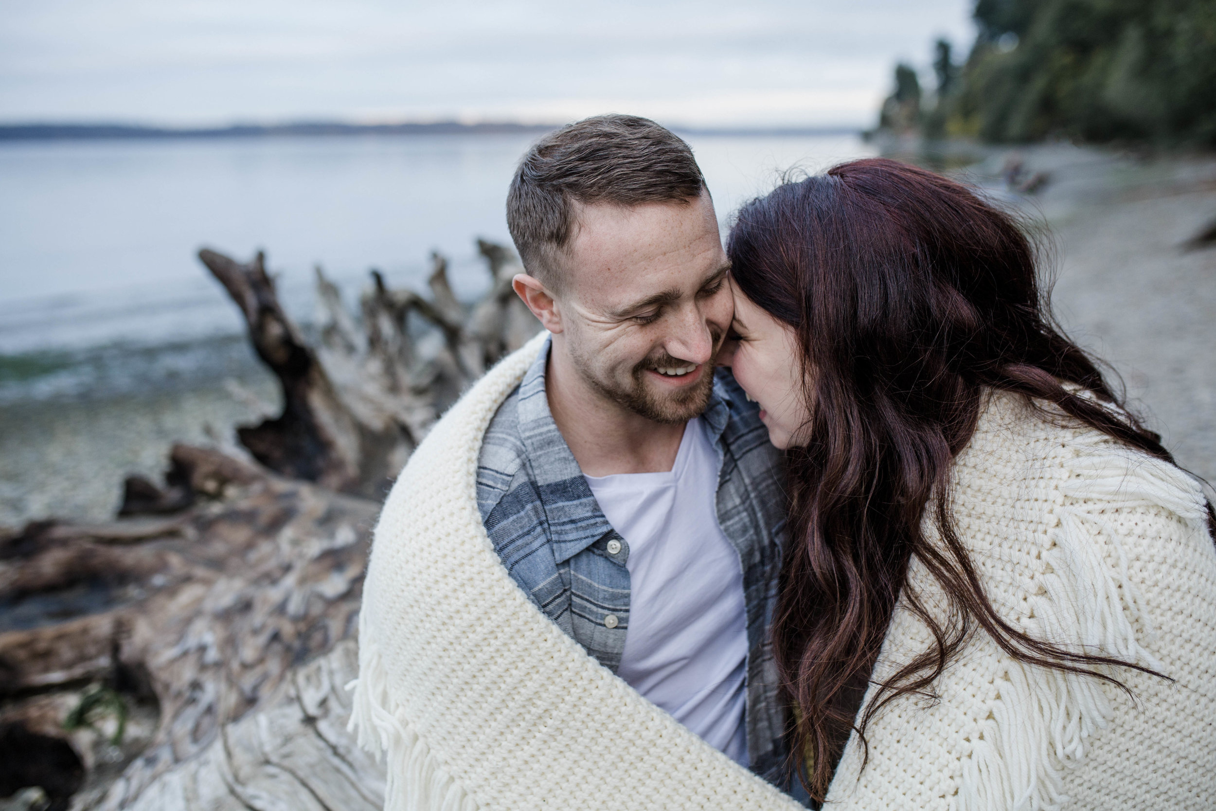 Tolmie State Park Engagement | Olympia Wedding Photographer