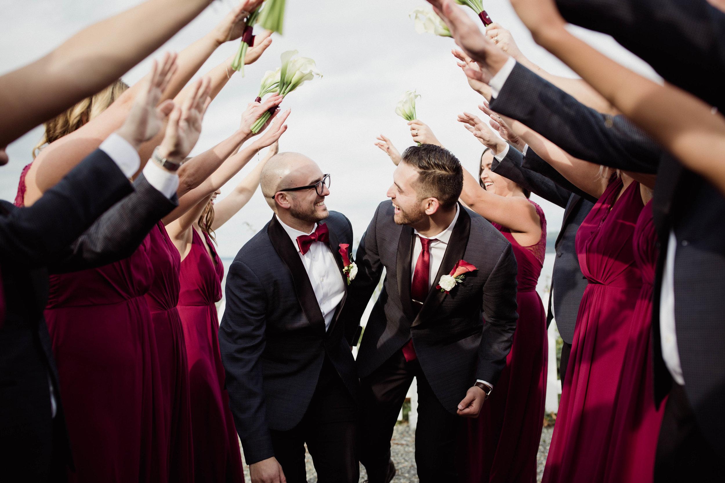 Mr. and Mr. | Olympia Wedding Photographer