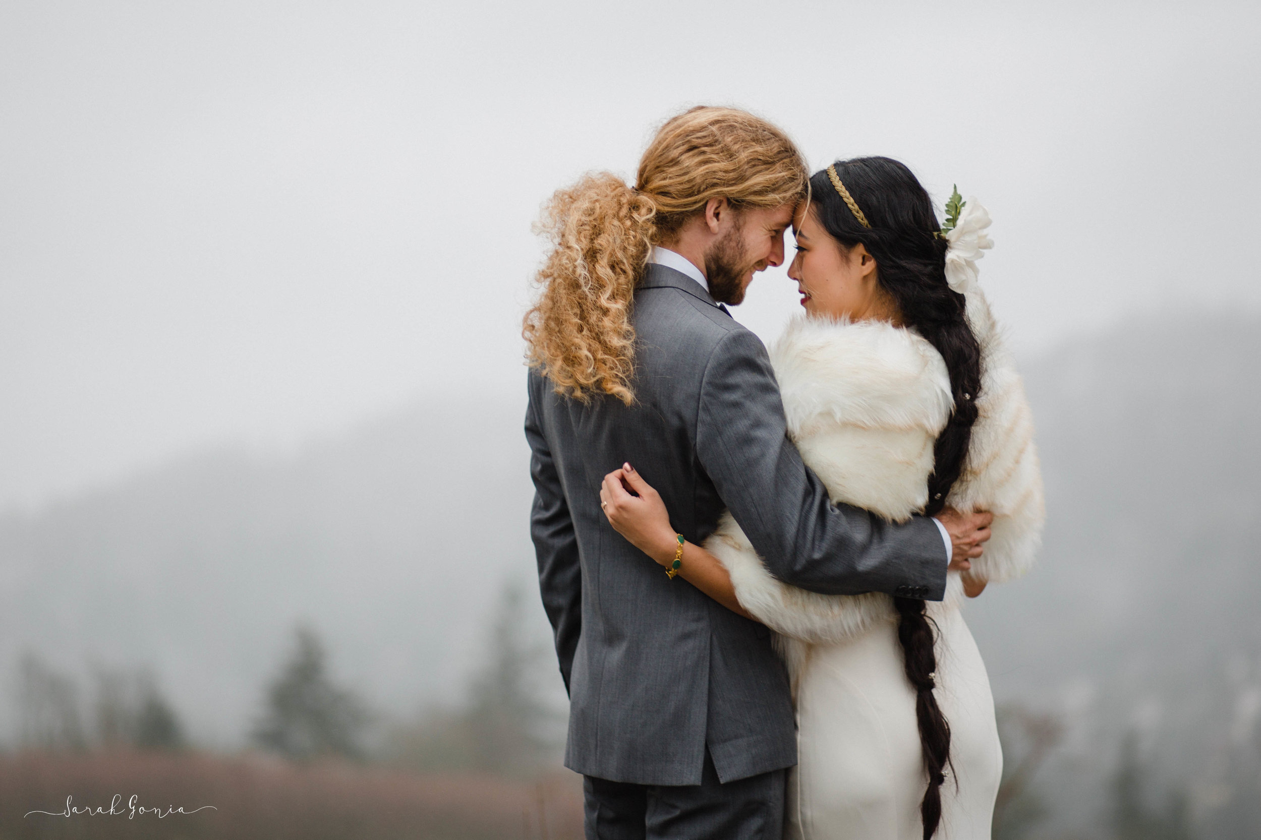 Bride and Groom | Seattle Wedding Photographer