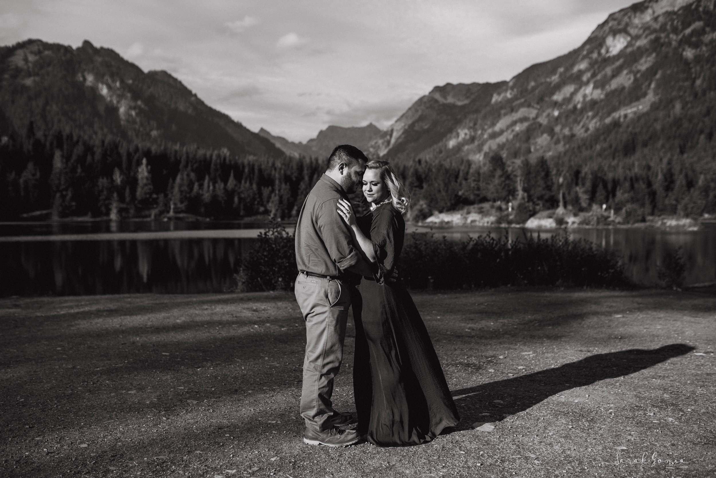 See more of Emily + Mario's Gold Creek Pond Engagement Session - Coming Soon