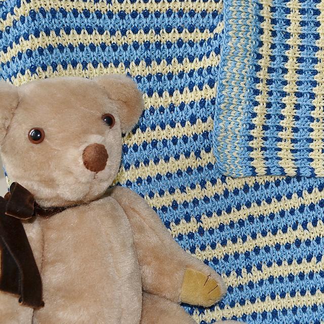 Brioche Baby Blanket