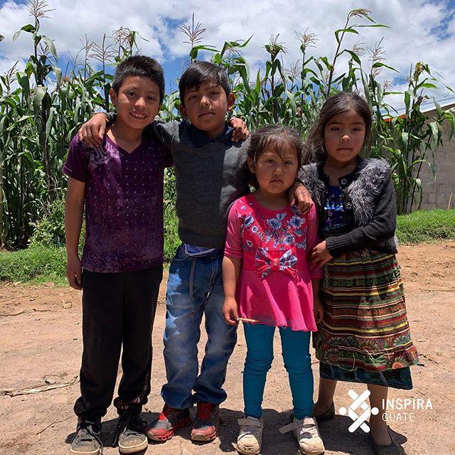 Construyendo una mejor calidad de vida para cada niño. #inspiragute #fightmalnutrition