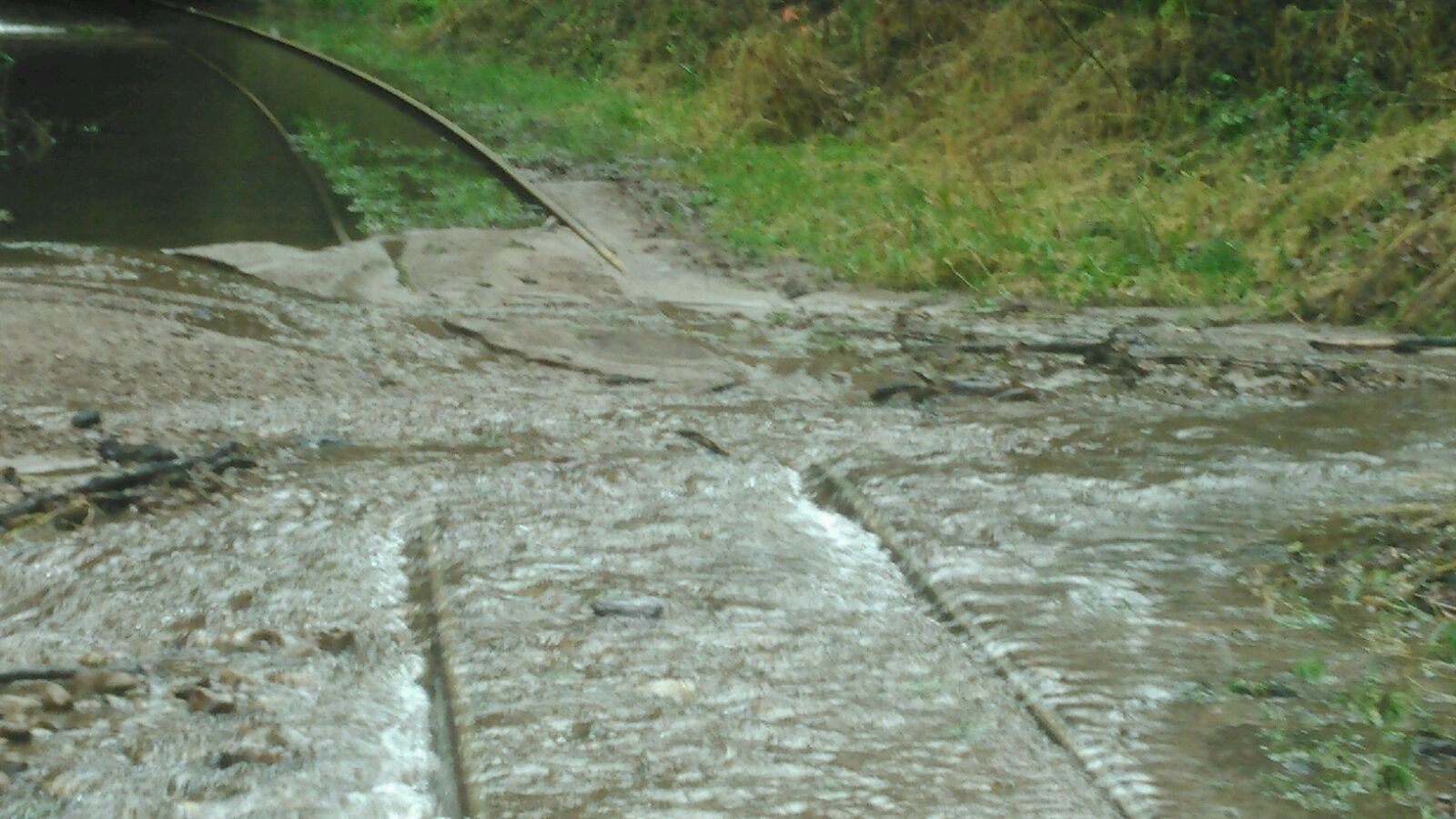 Drainage CONditions - North portal, TUnnel 19