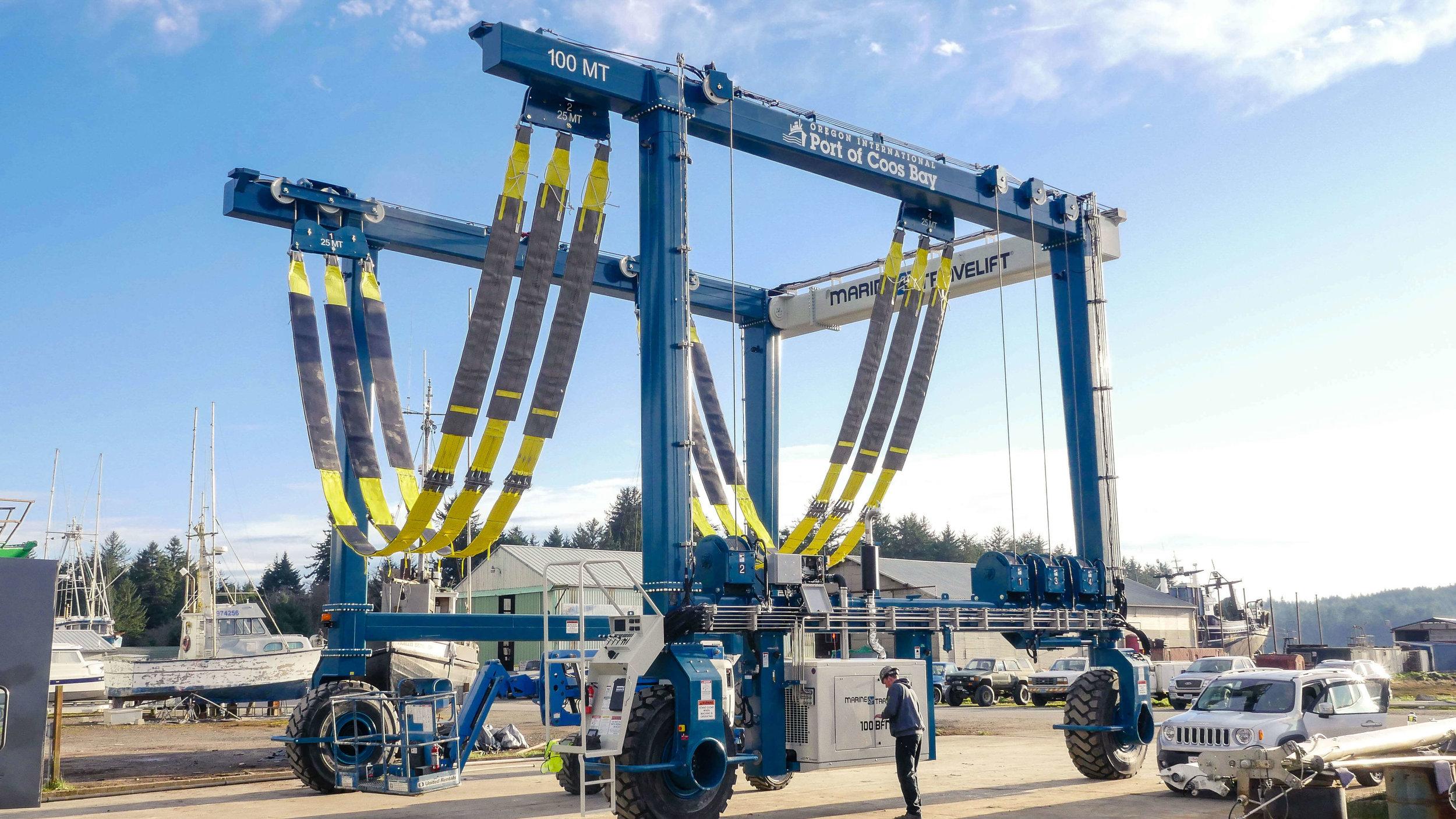 Charleston Shipyard Travel Lift