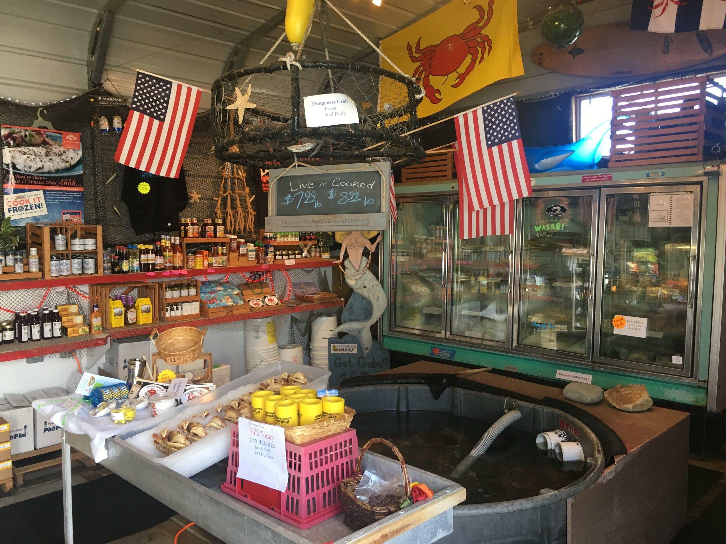 fishermen's wharf store