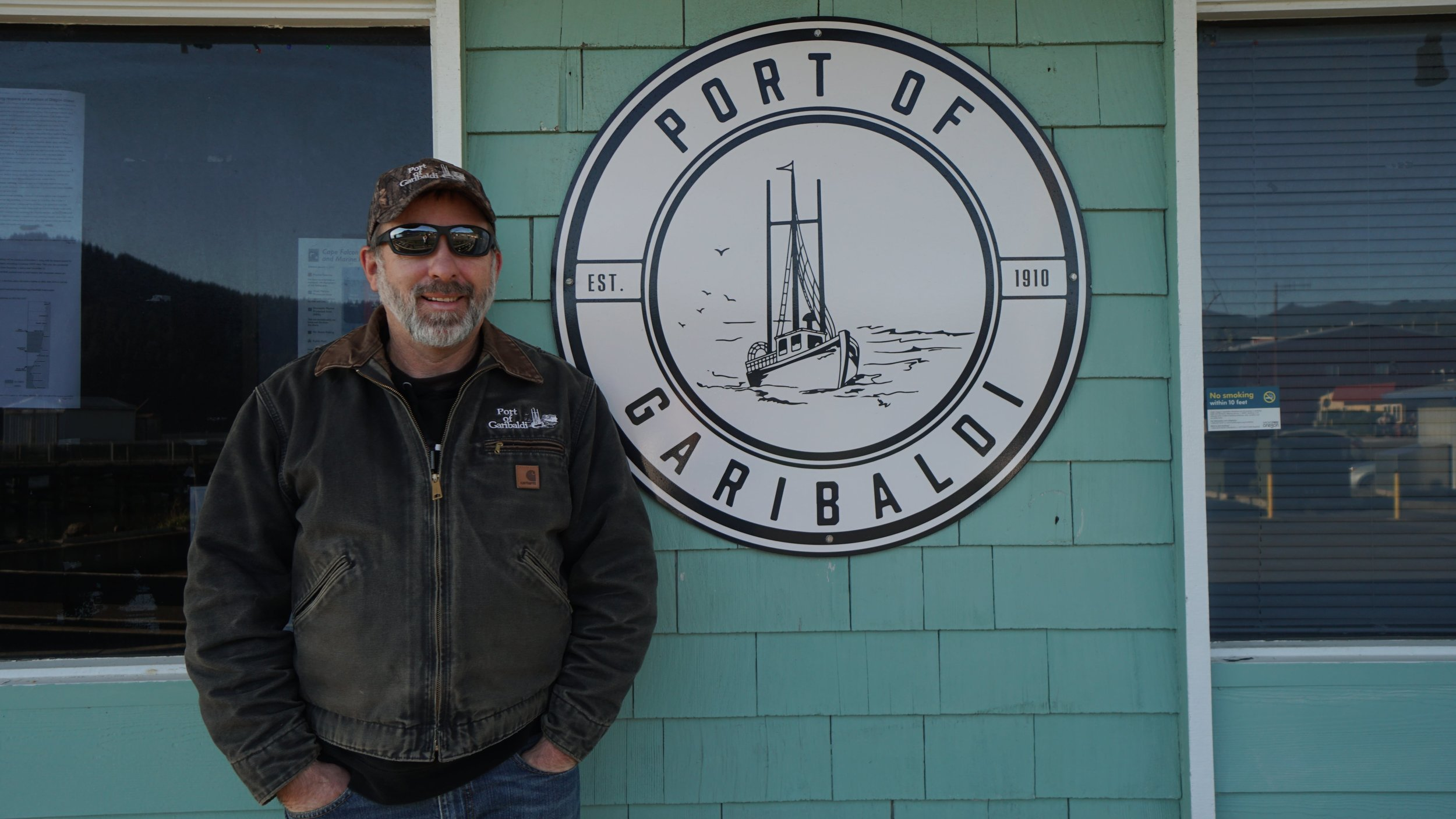 Michael Saindon,Manager of the Port of Garibaldi