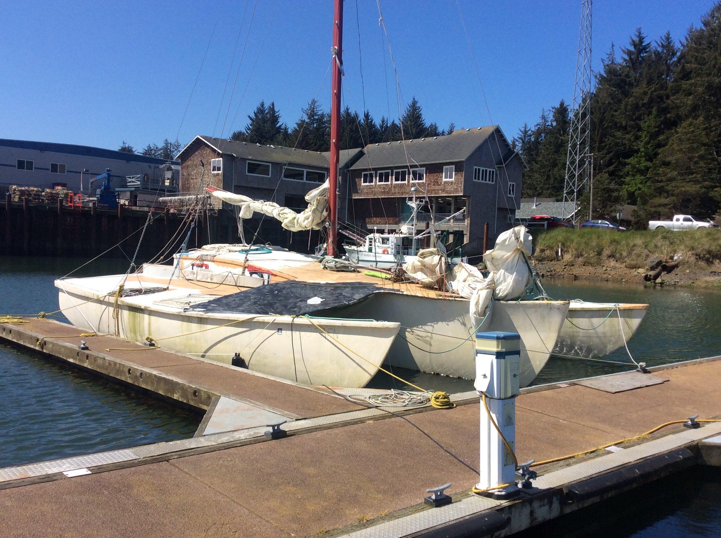 vessel for auction