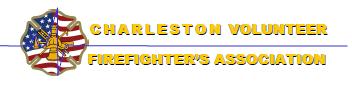 Charleston Volunteer Firefighter Association logo
