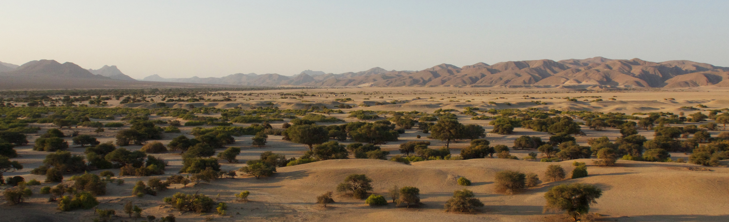 The small community of Purros in the far northwest of Namibia, one of three locations where the Soil Fertility Project - SFP - is working.