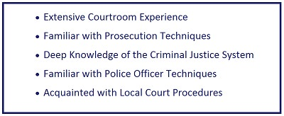 former prosecutor utah defense