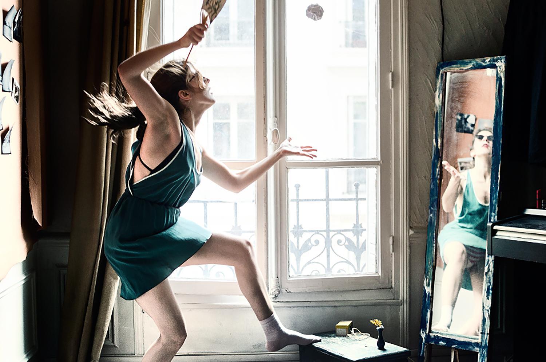 High School Badminton Training  Photography : Clara Abi Nader - Nikon D7000 - 35mm f/1.8 - tripod and 10sec timer