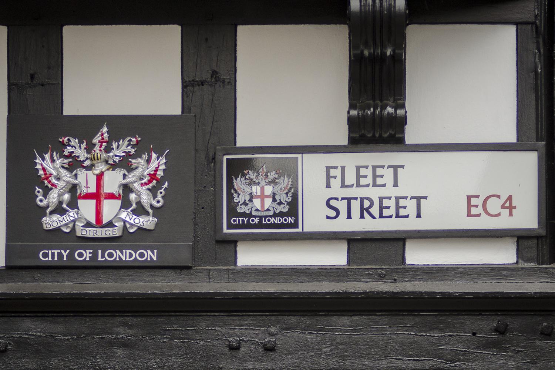 Fleet Street - City of London - PHOTO: ALEXANDER J.E. BRADLEY - NIKON D7100 - 80-200MM F/2.8 @ 112MM - F/3.2 - 1/160 -ISO 400