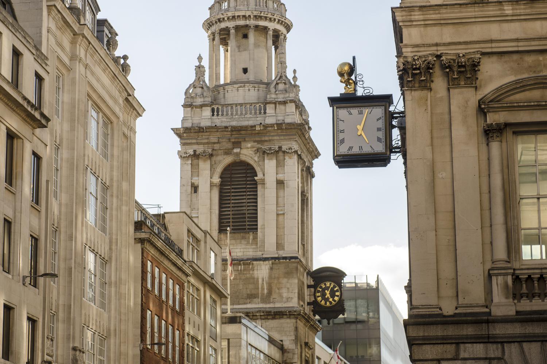 The Clocks of Cheapside - PHOTO: ALEXANDER J.E. BRADLEY - NIKON D7100 - 24-70MM F/2.8 @ 66MM - F/6.3 - 1/250 -ISO 100