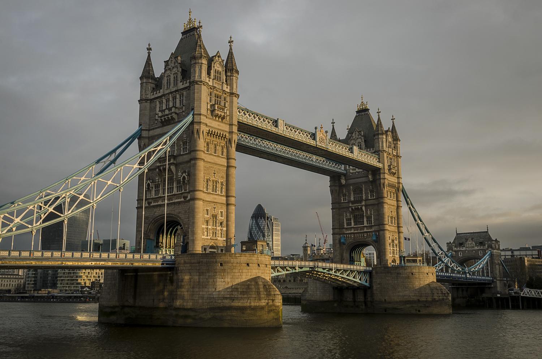 Tower Bridge - PHOTO: ALEXANDER J.E. BRADLEY - NIKON D7100 - 24-70MM F/2.8 @ 24MM - F/16 - 1/4 -ISO 100