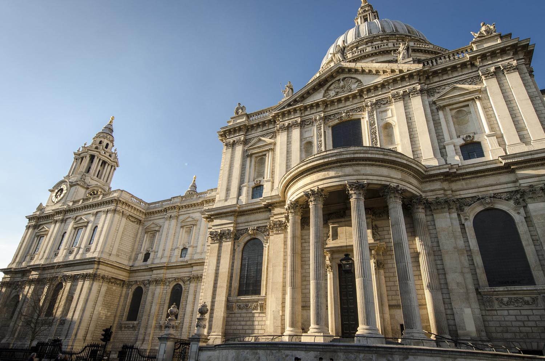 Saint Paul's Cathedral - PHOTO: ALEXANDER J.E. BRADLEY - NIKON D7100 - 14-24MM F/2.8 @ 14MM - F/8 - 1/250 -ISO 100