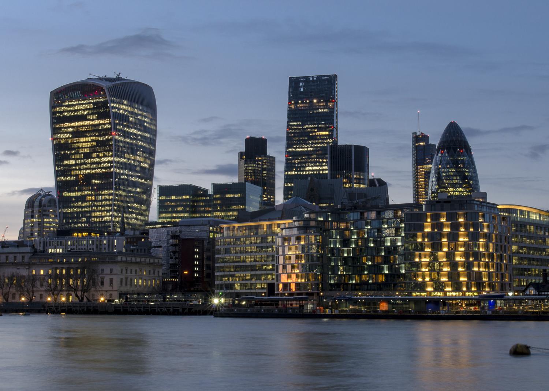 City of London Skyline - PHOTO: ALEXANDER J.E. BRADLEY - NIKON D7000 -  24-70MM F/2.8 @ 36  MM - F/22  - 1/6  - ISO 100