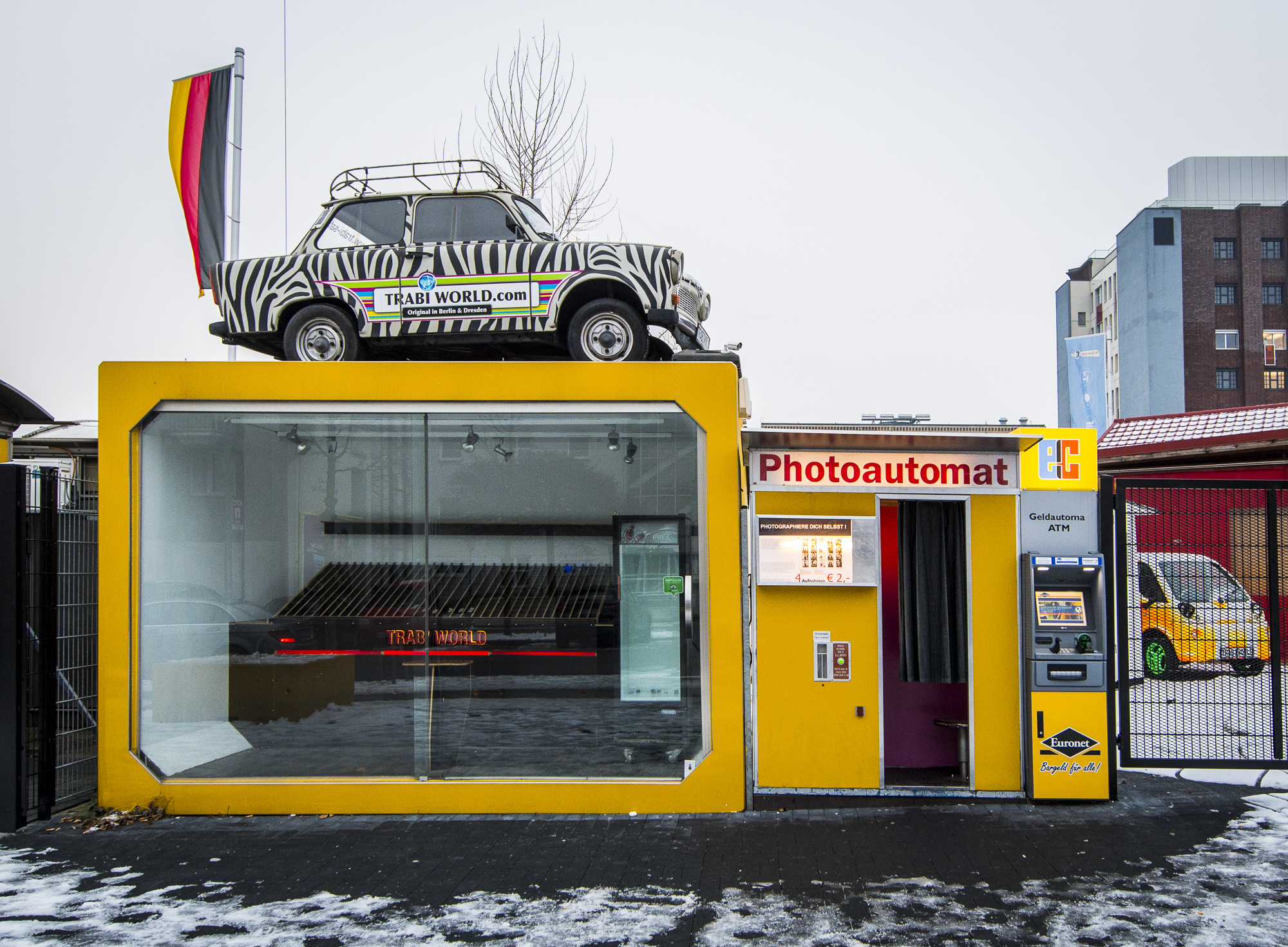 Trabi-World  PHOTOGRAPHY: ALEXANDER J.E. BRADLEY • NIKON D500 • AF-S NIKKOR 14-24MM F/2.8G ED @ 14MM • F/5.6 • 1/160 • ISO 400