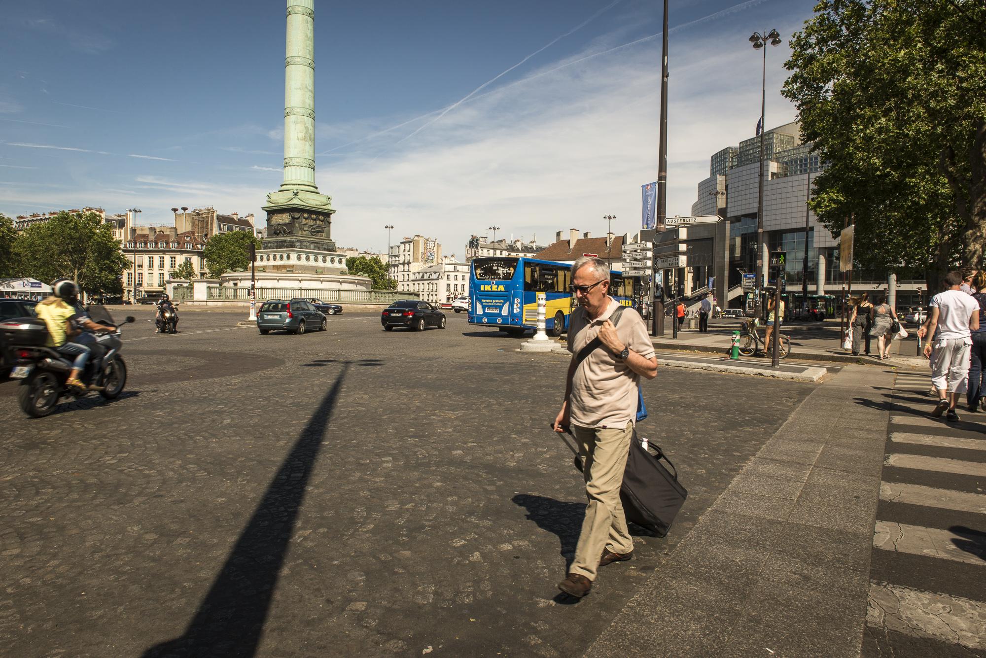 Place de la Bastille  PHOTOGRAPHY: ALEXANDER J.E. BRADLEY • NIKON D610 • AF-S NIKKOR 24-70mm f/2.8G ED @ 24mm • F/16 • 1/160 • ISO 100