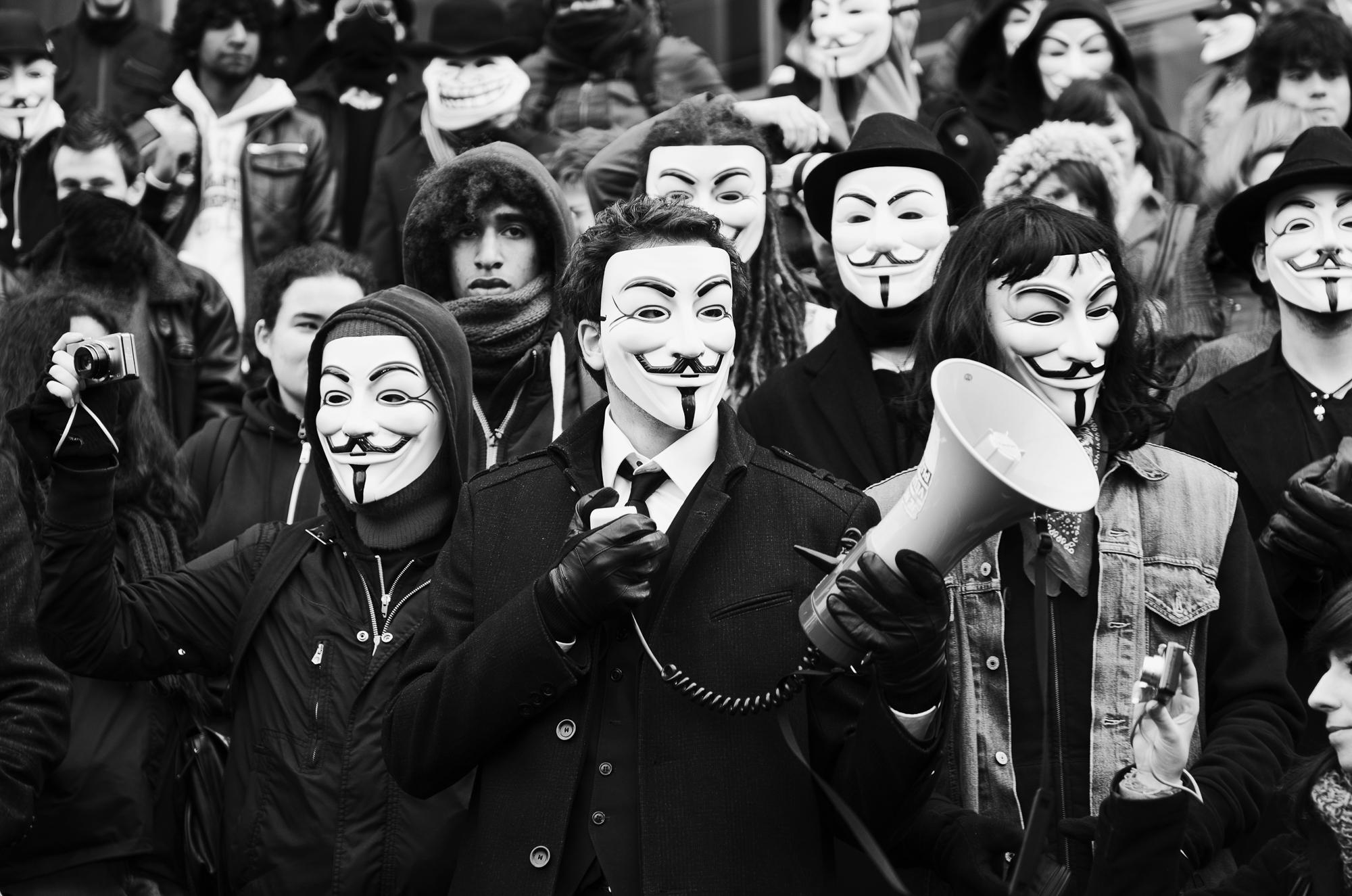 Rally against the ACTA - Bastille  PHOTOGRAPHY: ALEXANDER J.E. BRADLEY • NIKON D7000 • AF-S NIKKOR 24-70mm f/2.8G ED @ 70mm • F/2.8 • 1/125 • ISO 100