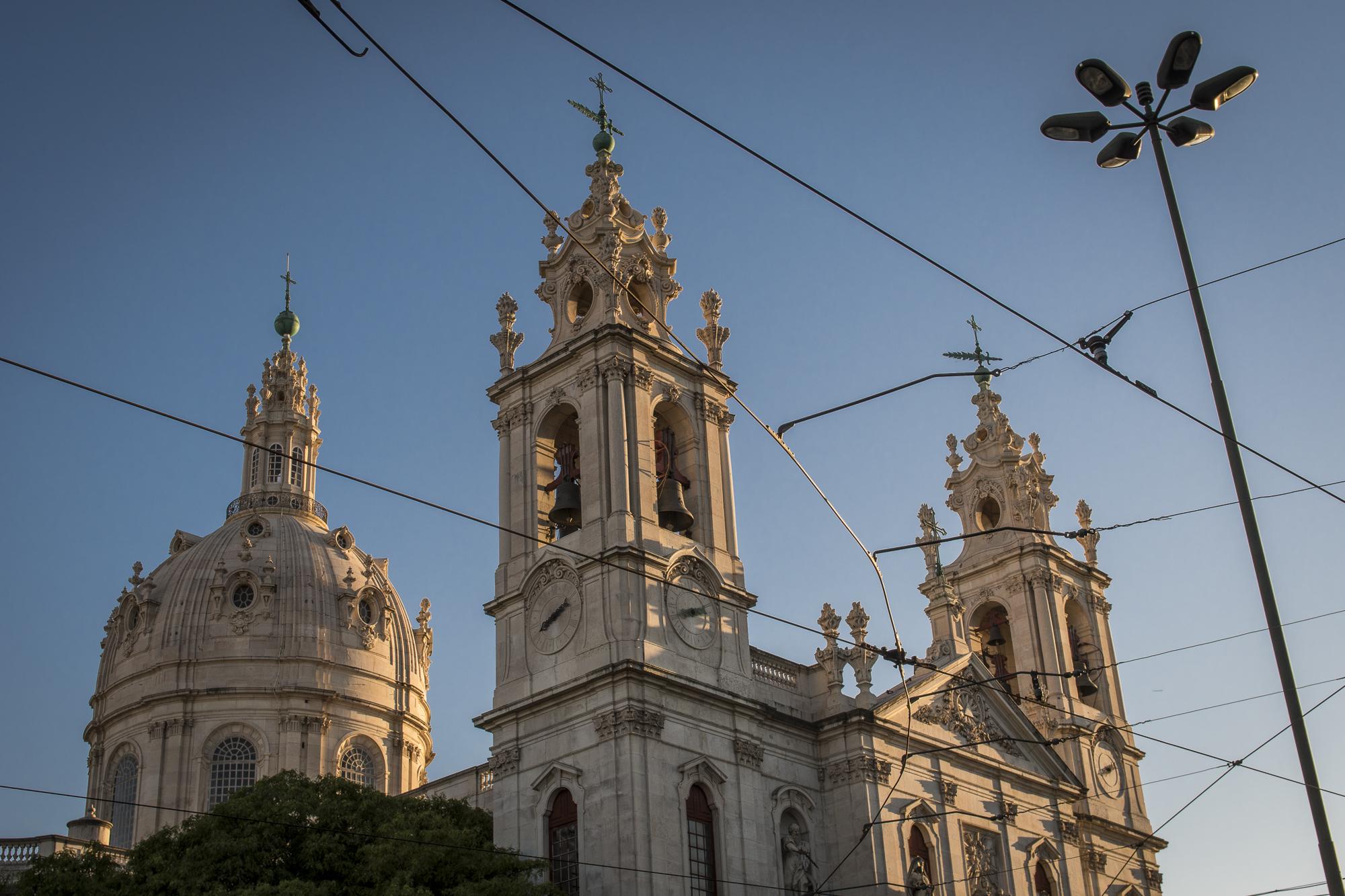 Basílica da Estrela  PHOTOGRAPHY: ALEXANDER J.E. BRADLEY •NIKON D500 • AF-S NIKKOR 24-70mm f/2.8G ED • 32mm • F/8 •1/250 •ISO 100
