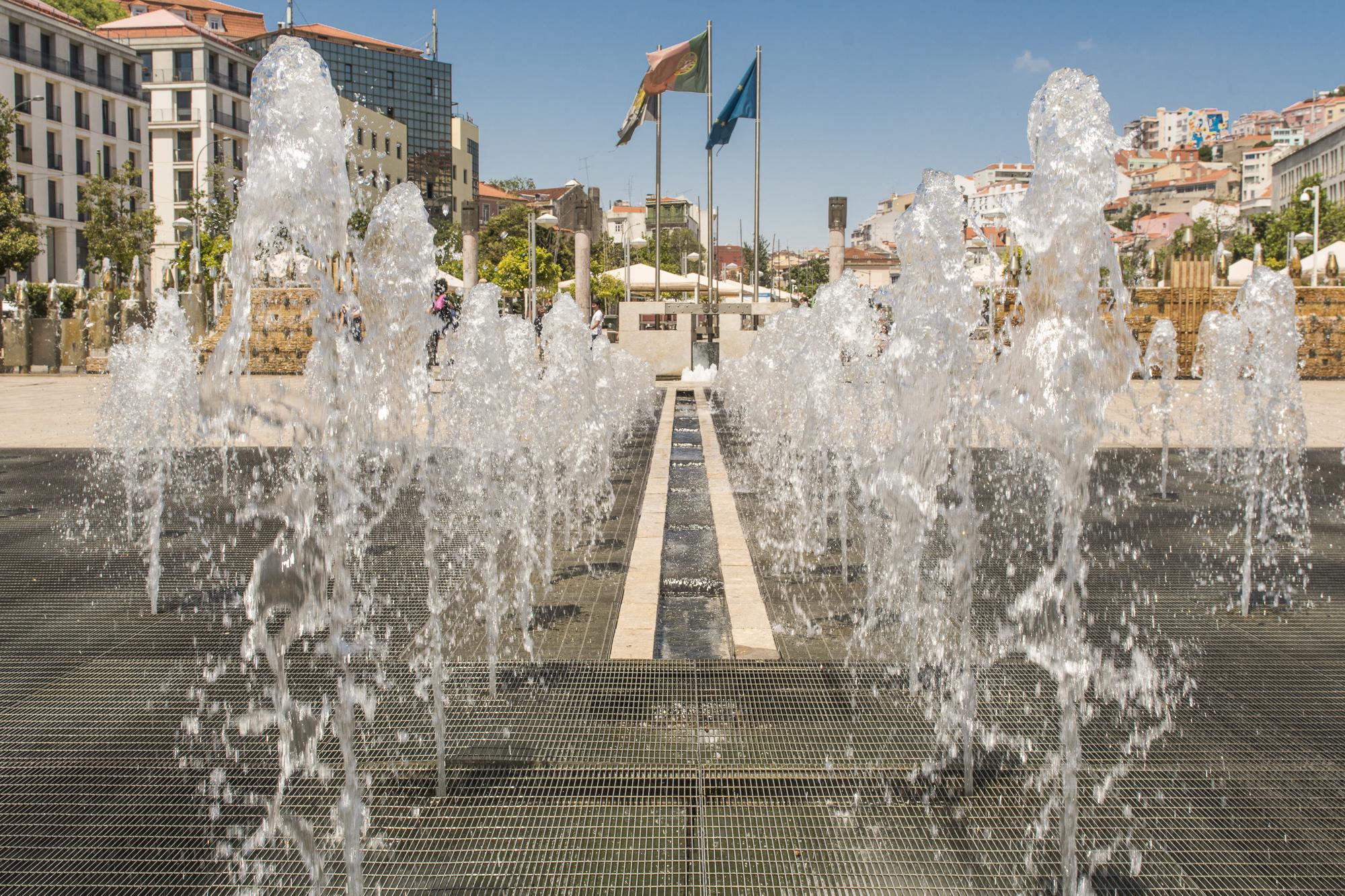 Praça Martim Moniz  PHOTOGRAPHY: ALEXANDER J.E. BRADLEY •NIKON D500 • AF-S NIKKOR 24-70mm f/2.8G ED • 26mm • F/11 •1/250 •ISO 100