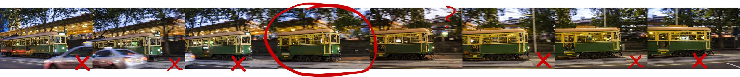 Melbourne W-Class Tram  PHOTOGRAPHY: ALEXANDER J.E. BRADLEY • NIKON D7000 • AF-S NIKKOR 24-70MM Ƒ/2.8G ED @ 34MM • Ƒ/2.8 • 1/25• ISO 800