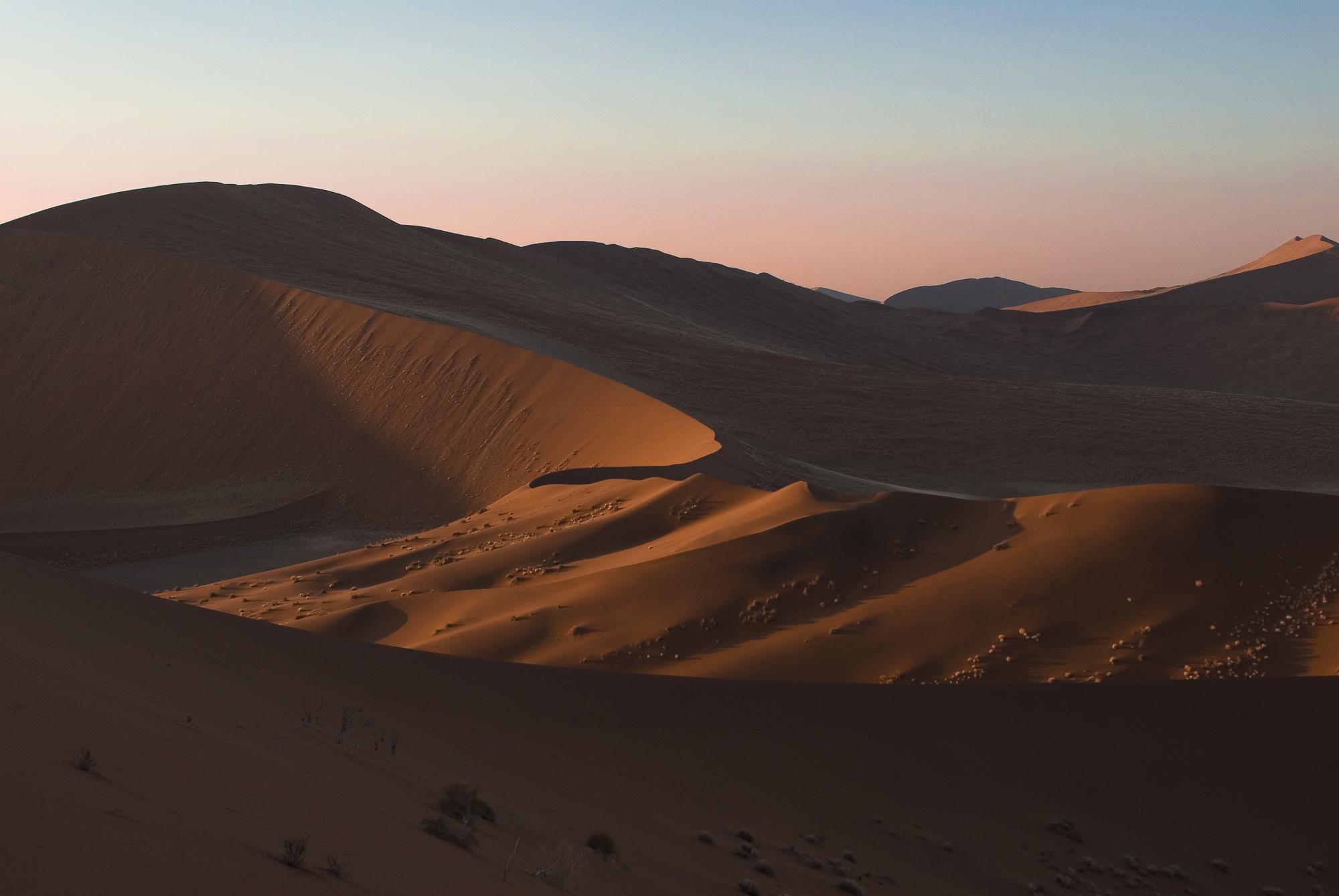 The Namib - Namibia  PHOTOGRAPHY: ALEXANDER J.E. BRADLEY •NIKON D200 • Nikon AF Zoom-Nikkor 35-70mm Ƒ/2.8D @ 35MM • Ƒ/7.1 •1/180 •ISO 100