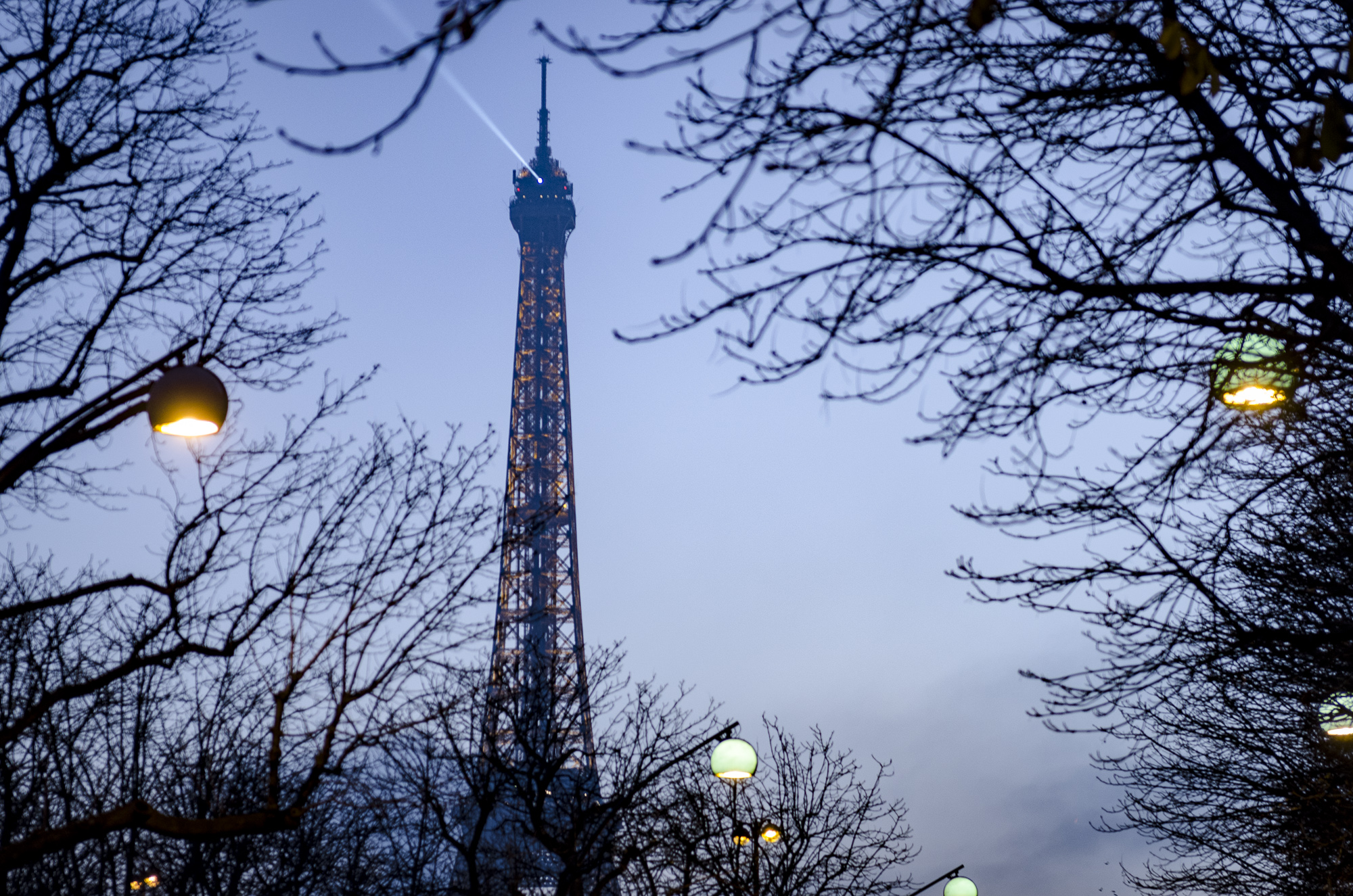 THE Eiffel Tower - Paris  PHOTOGRAPHY: ALEXANDER J.E. BRADLEY • NIKON D7000 • AF-S NIKKOR 24-70mm Ƒ/2.8G ED @ 70MM • Ƒ/2.8 • 1/80 • ISO 400