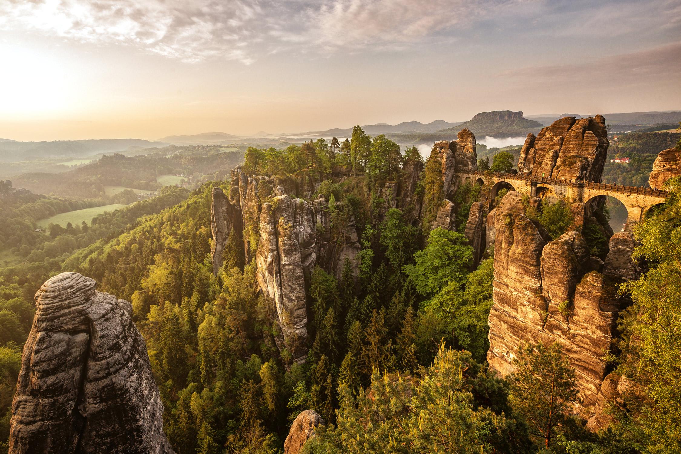 Saxon Switzerland  Photography: Martin Bisof