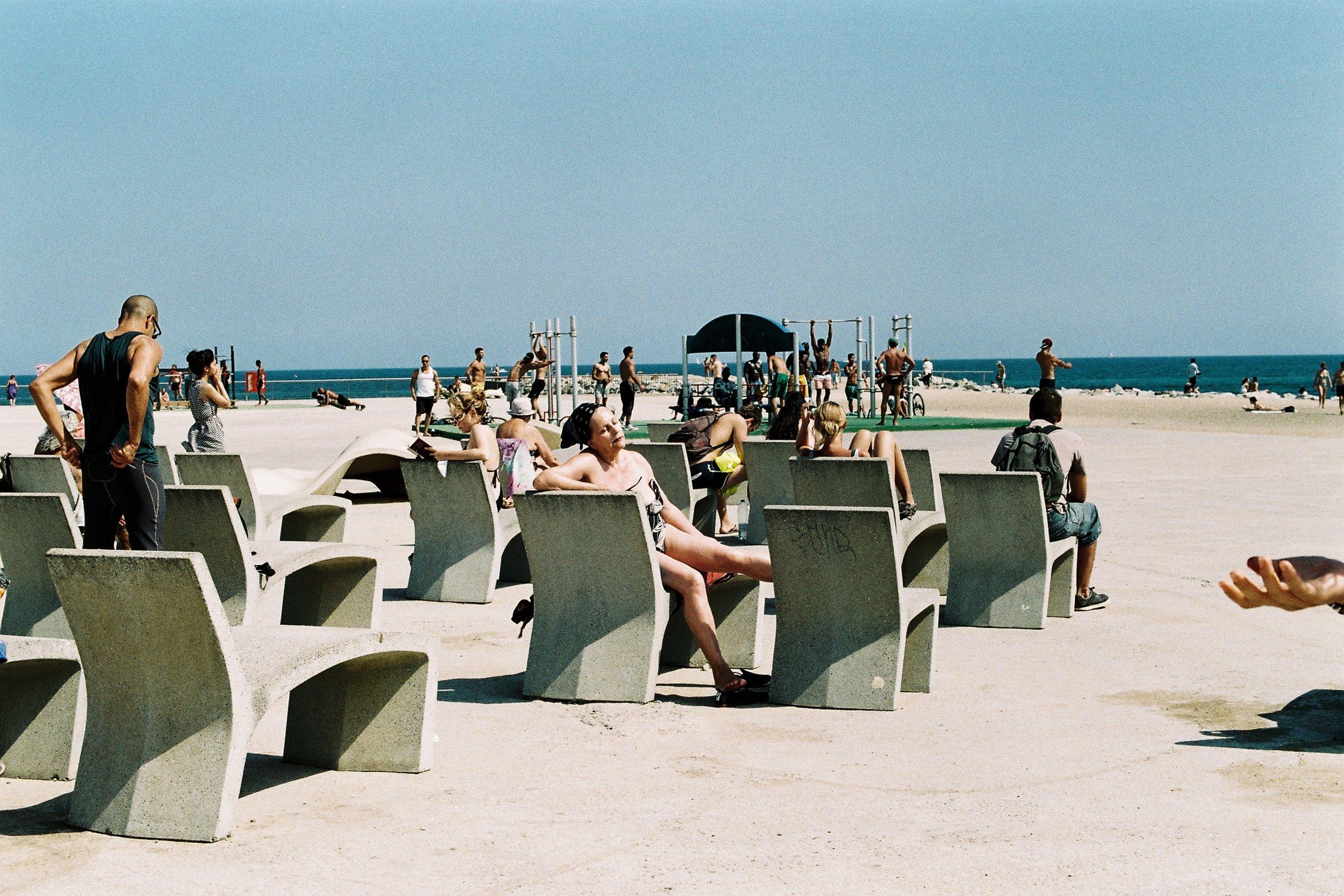In the Oven  PHOTOGRAPHY: Clara Abi Nader • Canon A1 • FUJICOLOR SUPERIA 200 • 50mm Ƒ/1.8 @ • Ƒ/8 • 1/500