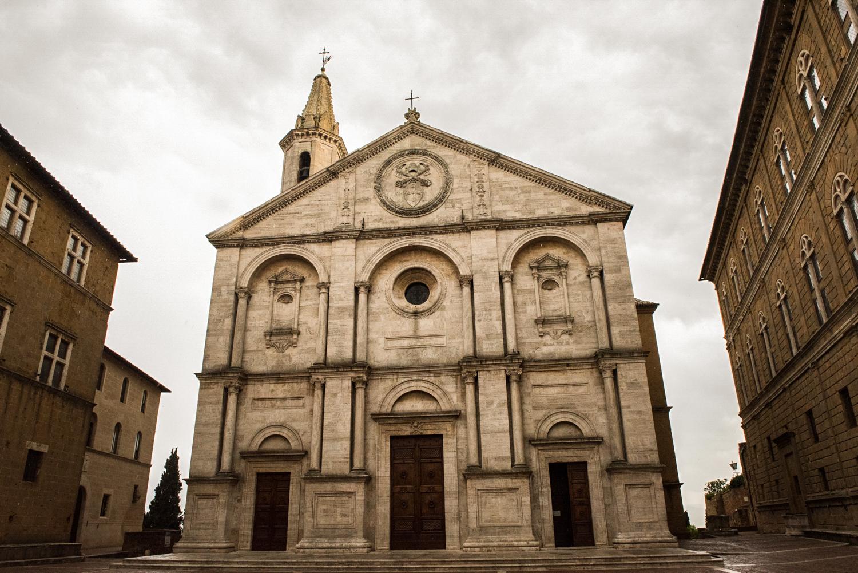 Church in Pienza  PHOTO: ANNA VOLPI • NIKON D750 • 24-70mm Ƒ/2.8 @ 24mm • Ƒ/11 • 1/640 • ISO 2000