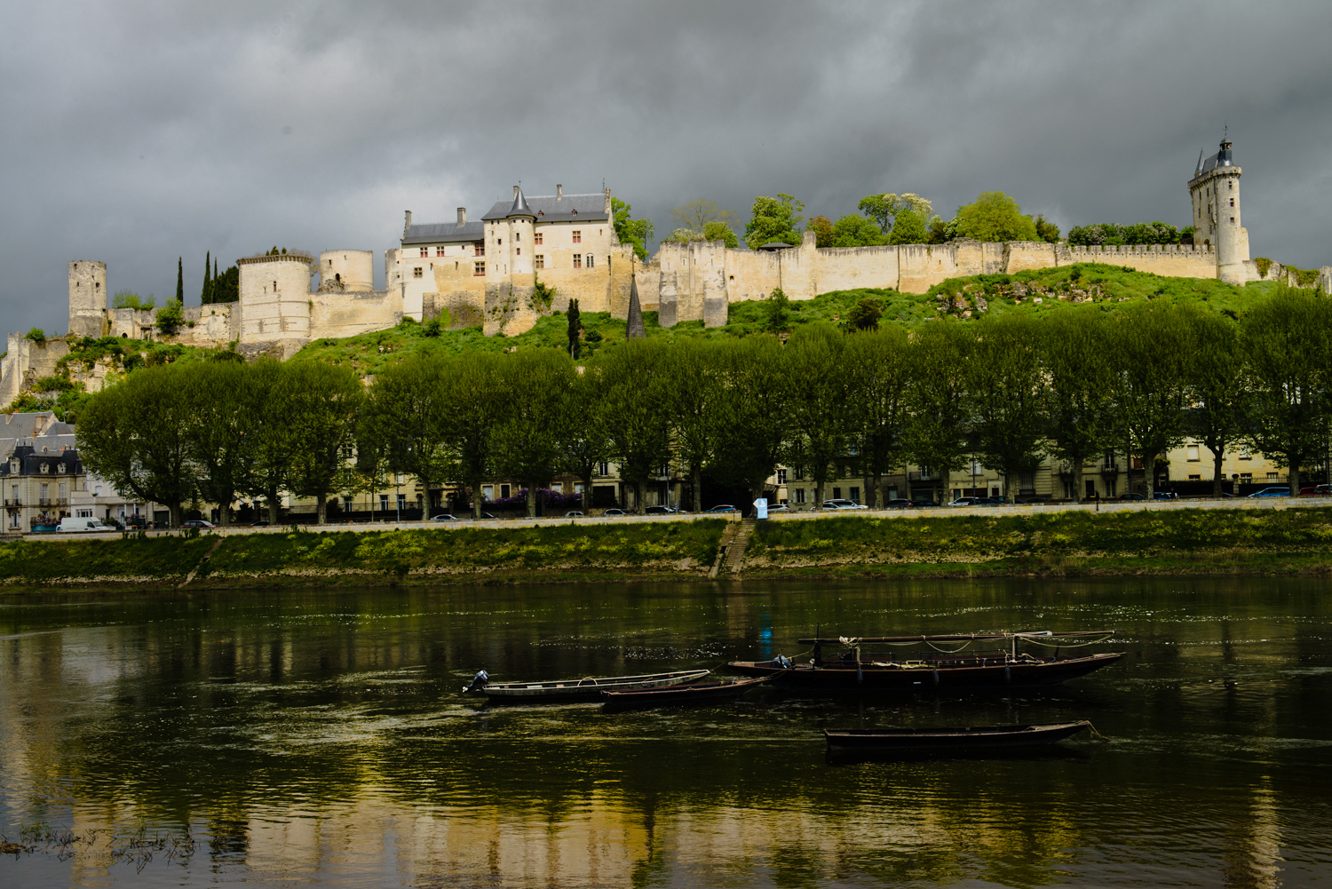 Forteresse Royale de Chinon, Loire Valley  PHOTOGRAPHY: William Lounsbury • NIKON D800 • AF-S NIKKOR 24-70MM F/2.8G ED @ 45MM • Ƒ/8 • 1/640 • ISO 200
