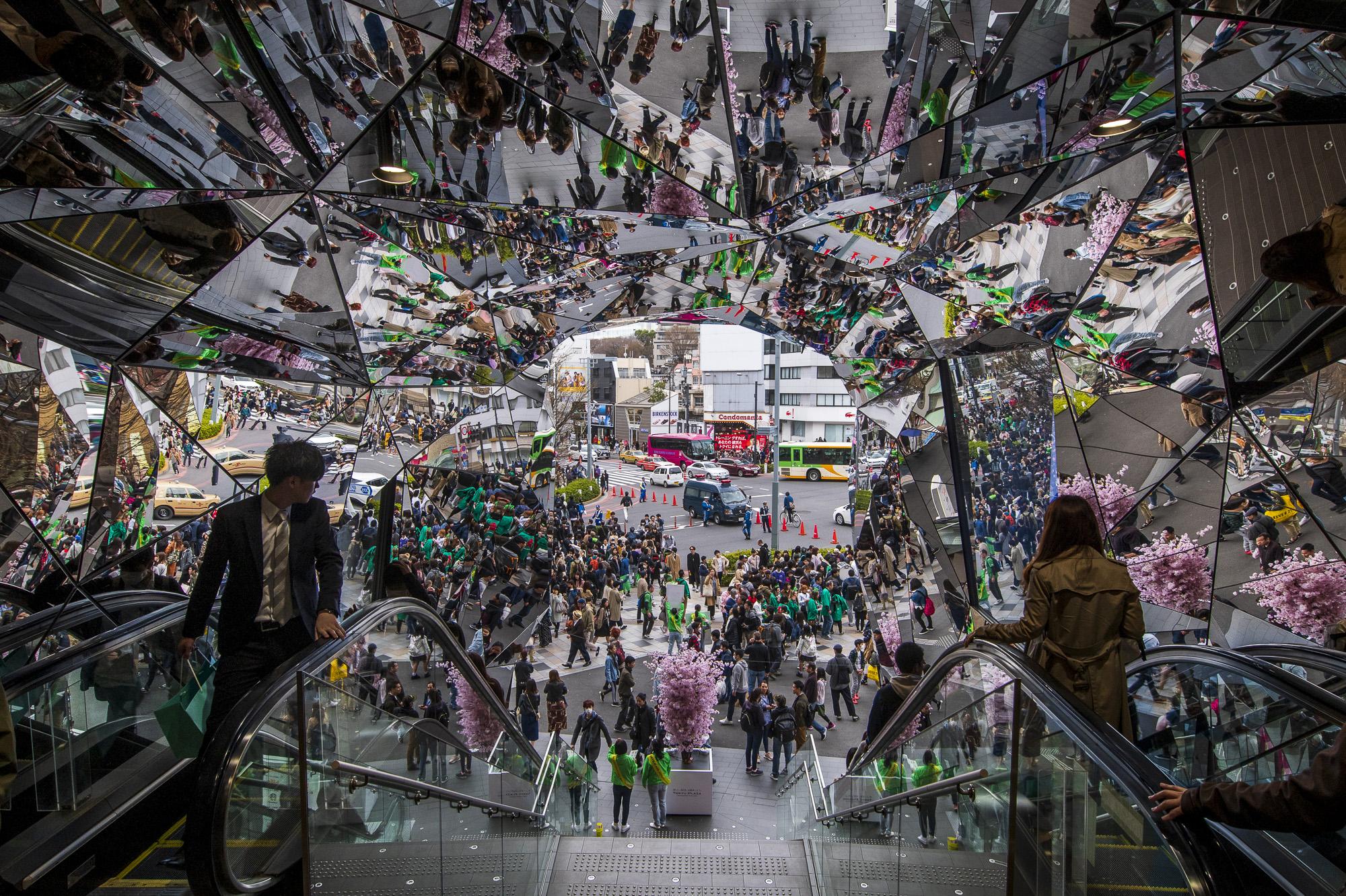 Tokyu Plaza Omotesando Harajuku  PHOTOGRAPHY: ALEXANDER J.E. BRADLEY • NIKON D500 • AF-S NIKKOR 14-24MM Ƒ/2.8G ED @ 14MM • Ƒ/8 • 1/200 • ISO 200