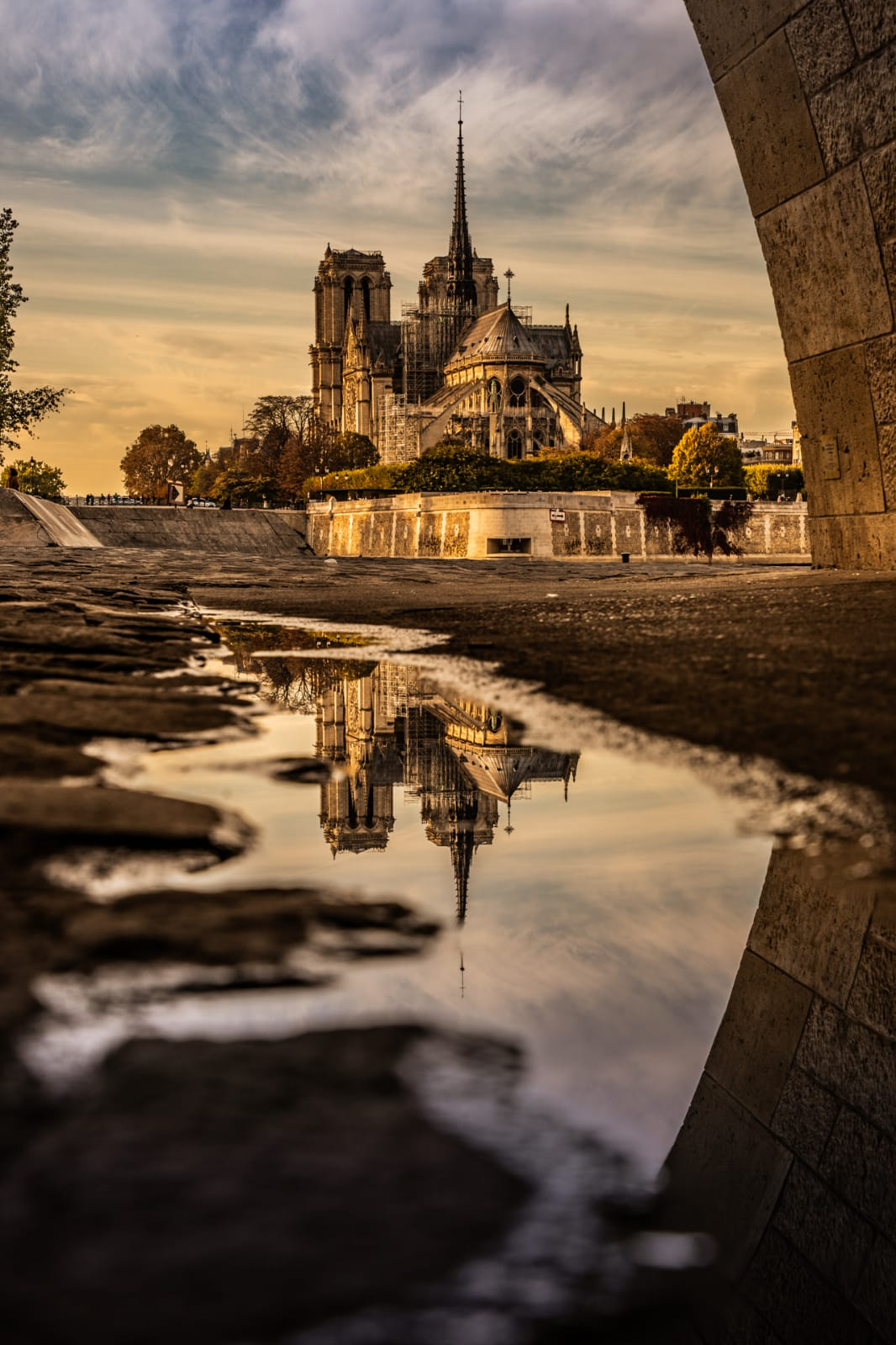 Notre Dame  PHOTOGRAPHY: Mathias Paltrie • Canon 1D