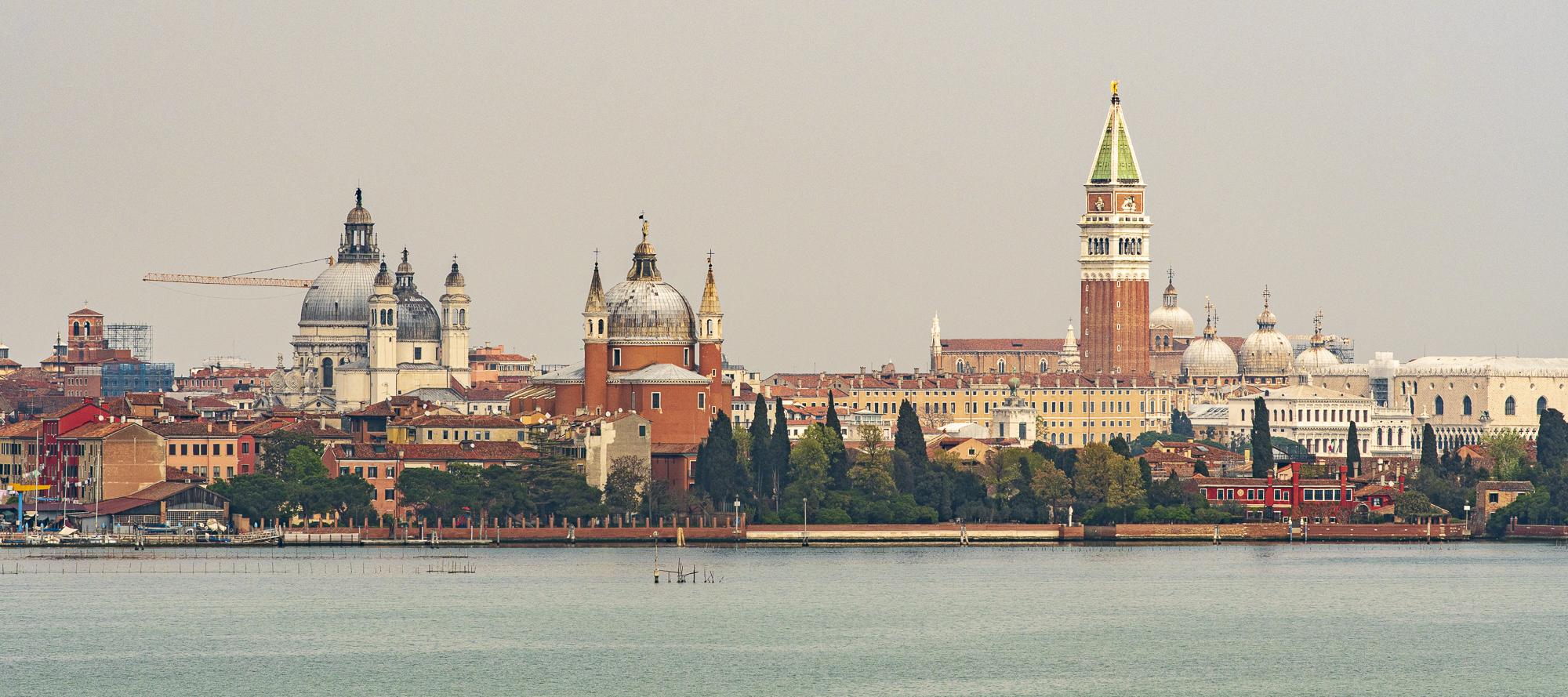Venice as seen from Sacca Sessola  PHOTOGRAPHY: ALEXANDER J.E. BRADLEY • NIKON D500 • AF-S NIKKOR 70-200mm ƒ/2.8 FL ED VR4-70MM Ƒ/2.8G ED @ 200MM • Ƒ/8 • 1/1000 SEC • ISO 100