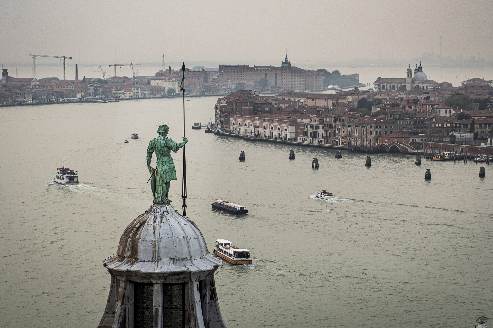 Venice from Isola de San Giorgio Maggiore  PHOTOGRAPHY: ALEXANDER J.E. BRADLEY • NIKON D500 • AF-S NIKKOR 24-70MM Ƒ/2.8G ED