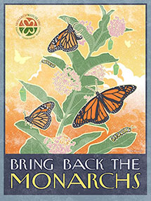 Monarch watch - We will participate in the Monarch Calendar project in 2018! Check out our link to the project. We will also be creating a butterfly garden this season. Check back for updates!