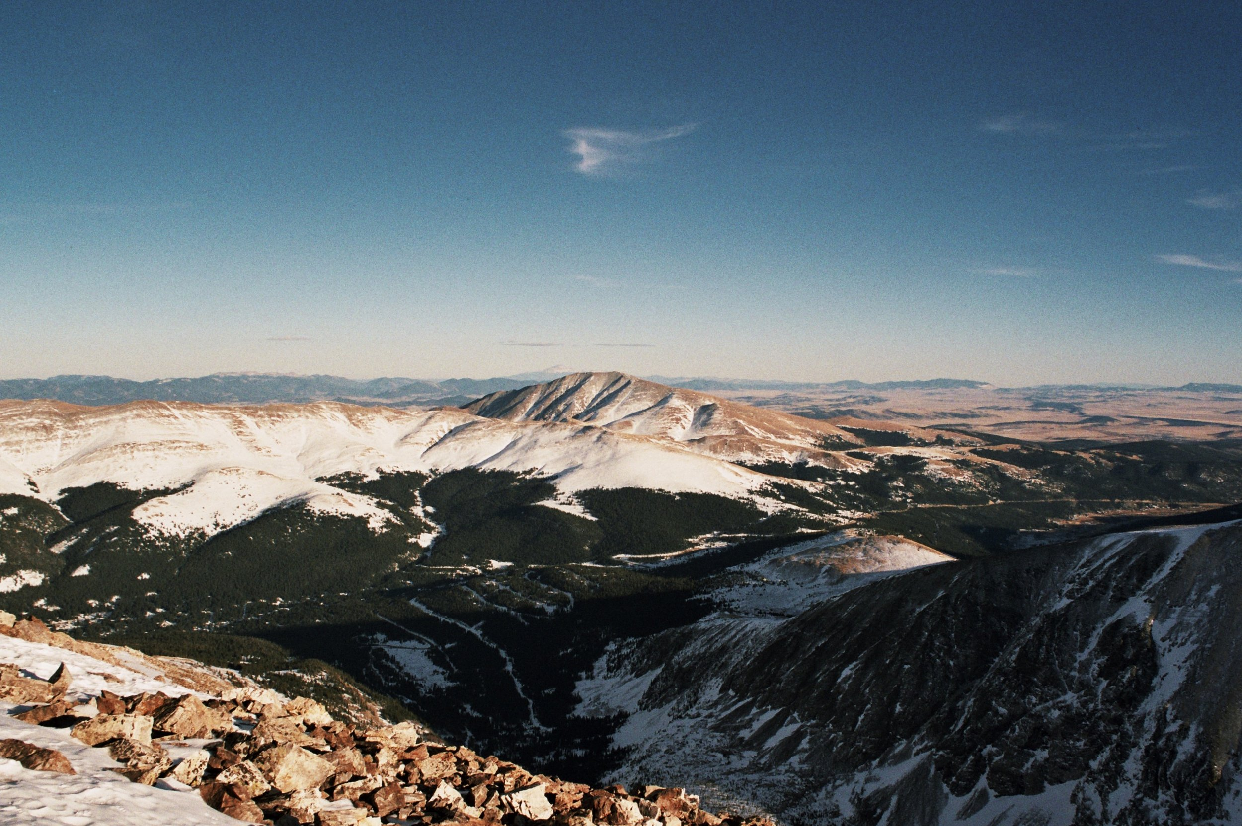 the view from Mt. Quandary | March 2016