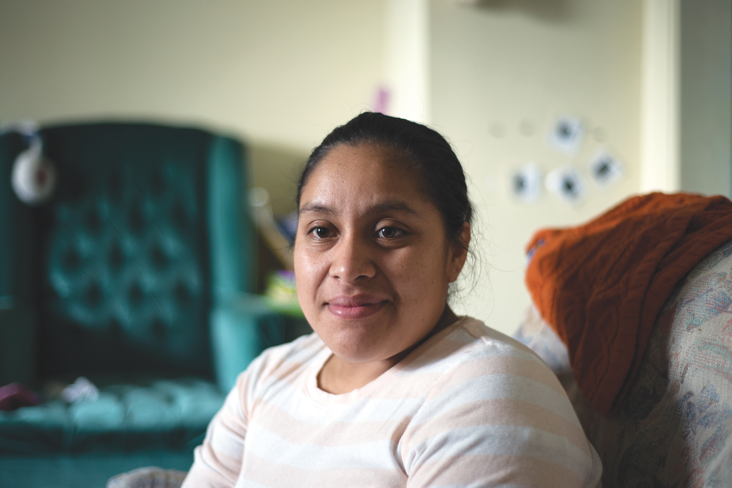 I hope that Hispanics are able to reach their dreams so that their children can have better lives. –Juana | Guatemala