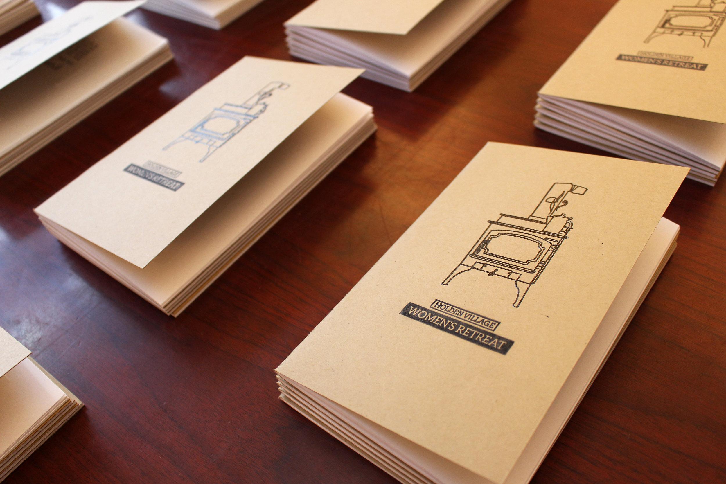 Women's Retreat Notebooks