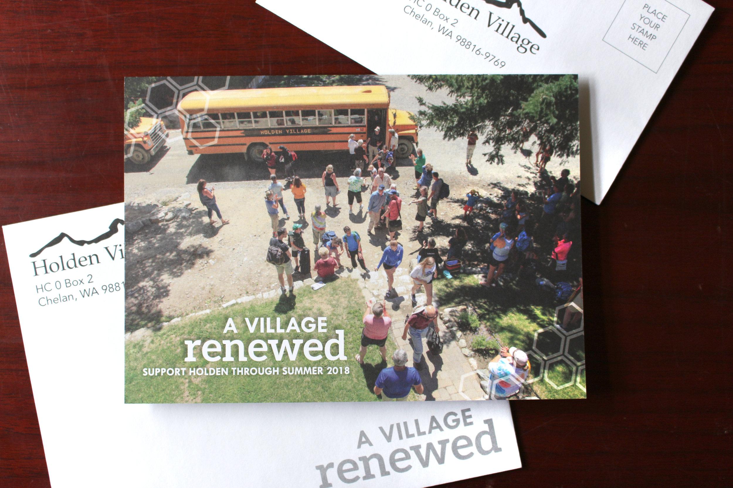 Summer Appeal Letter
