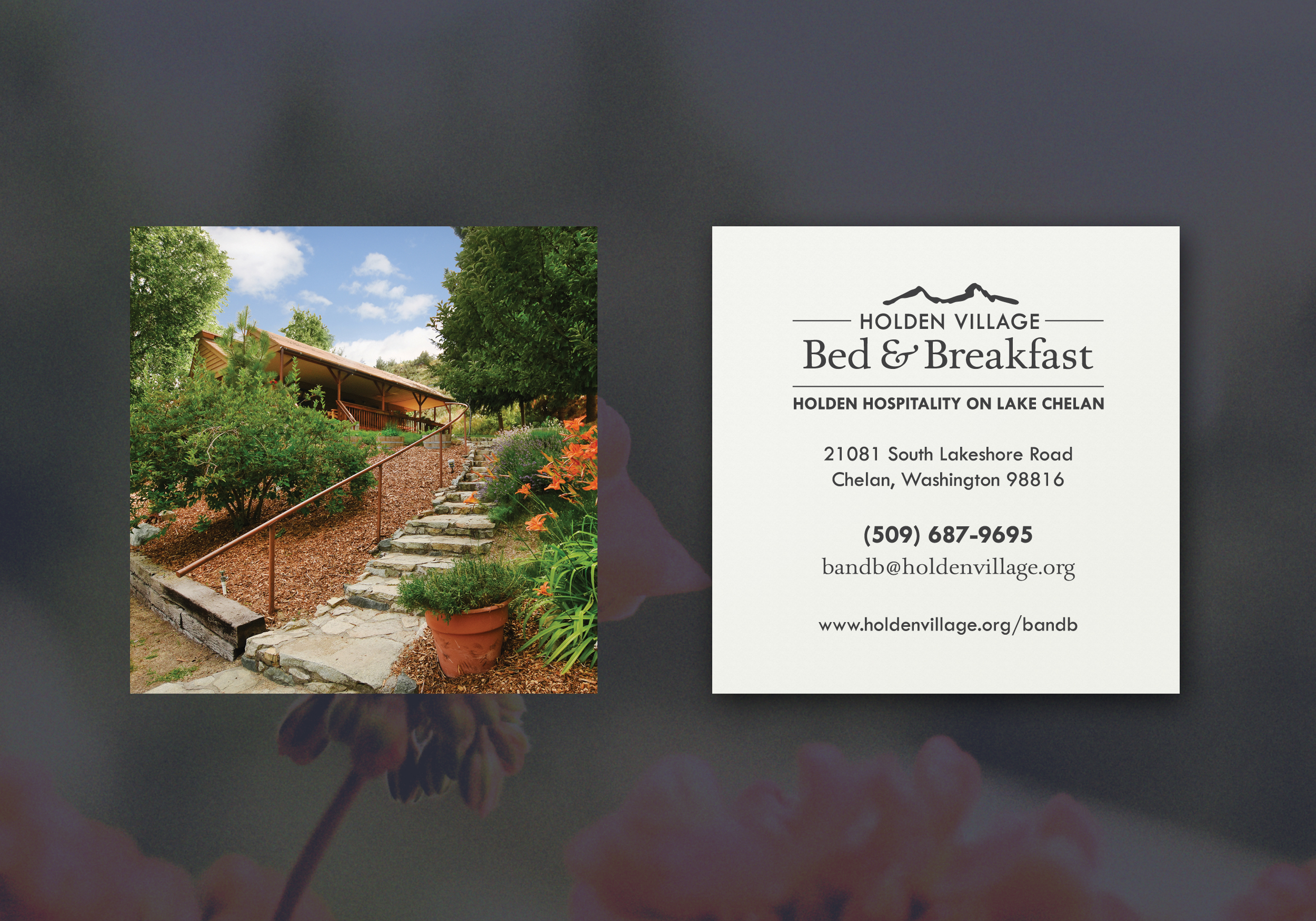 Bed and Breakfast Business Cards