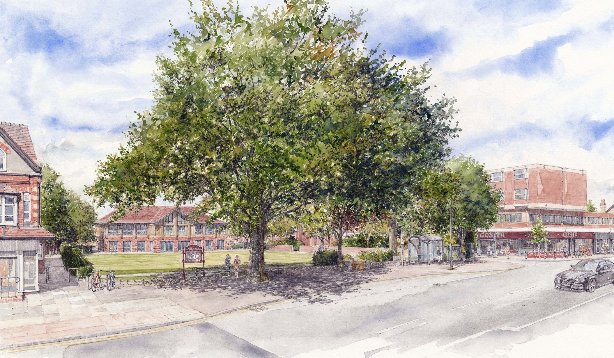 Hale Library approved after four-year wait
