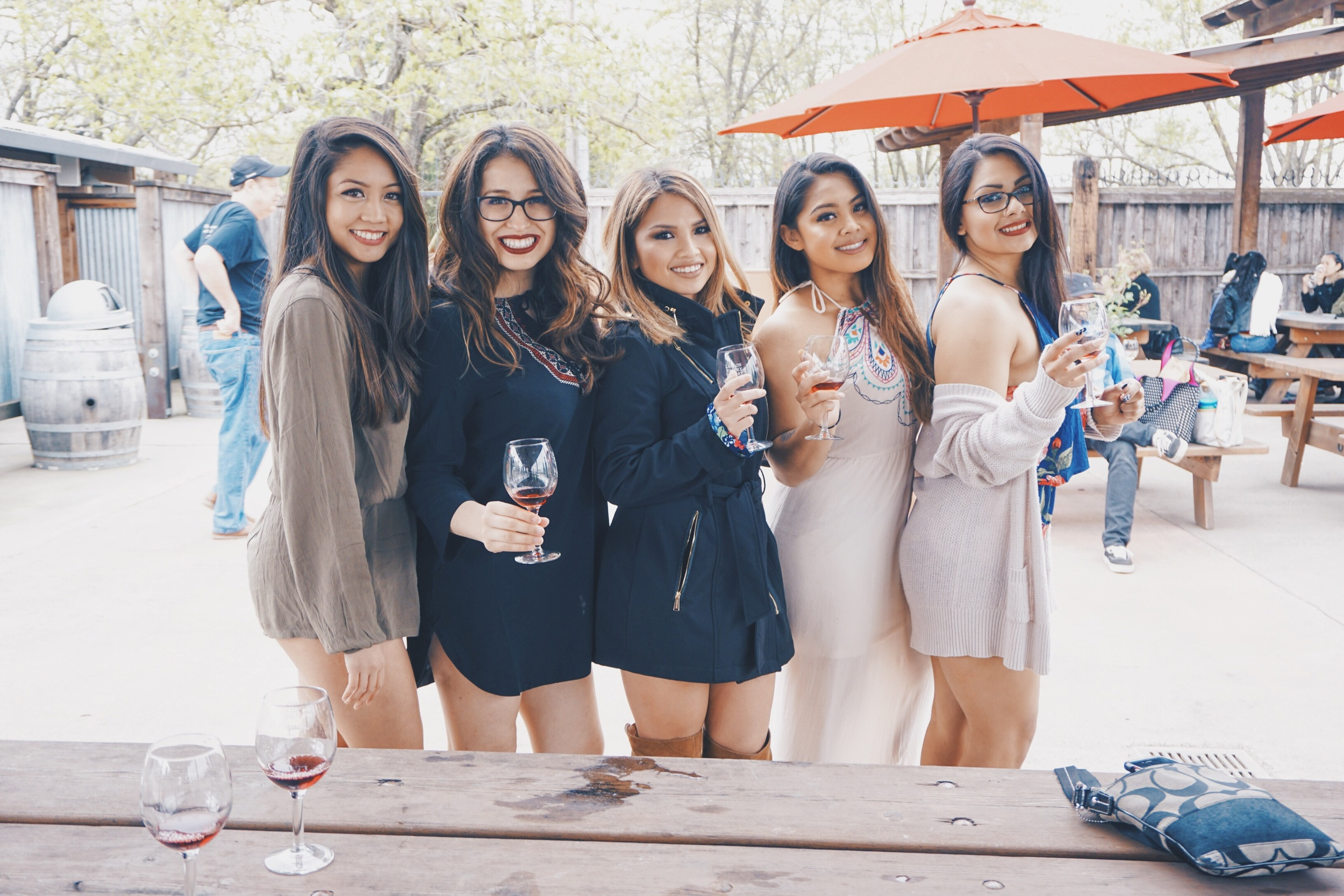 Just a few of the many beautiful ladies there to celebrate Anjuli's big day!