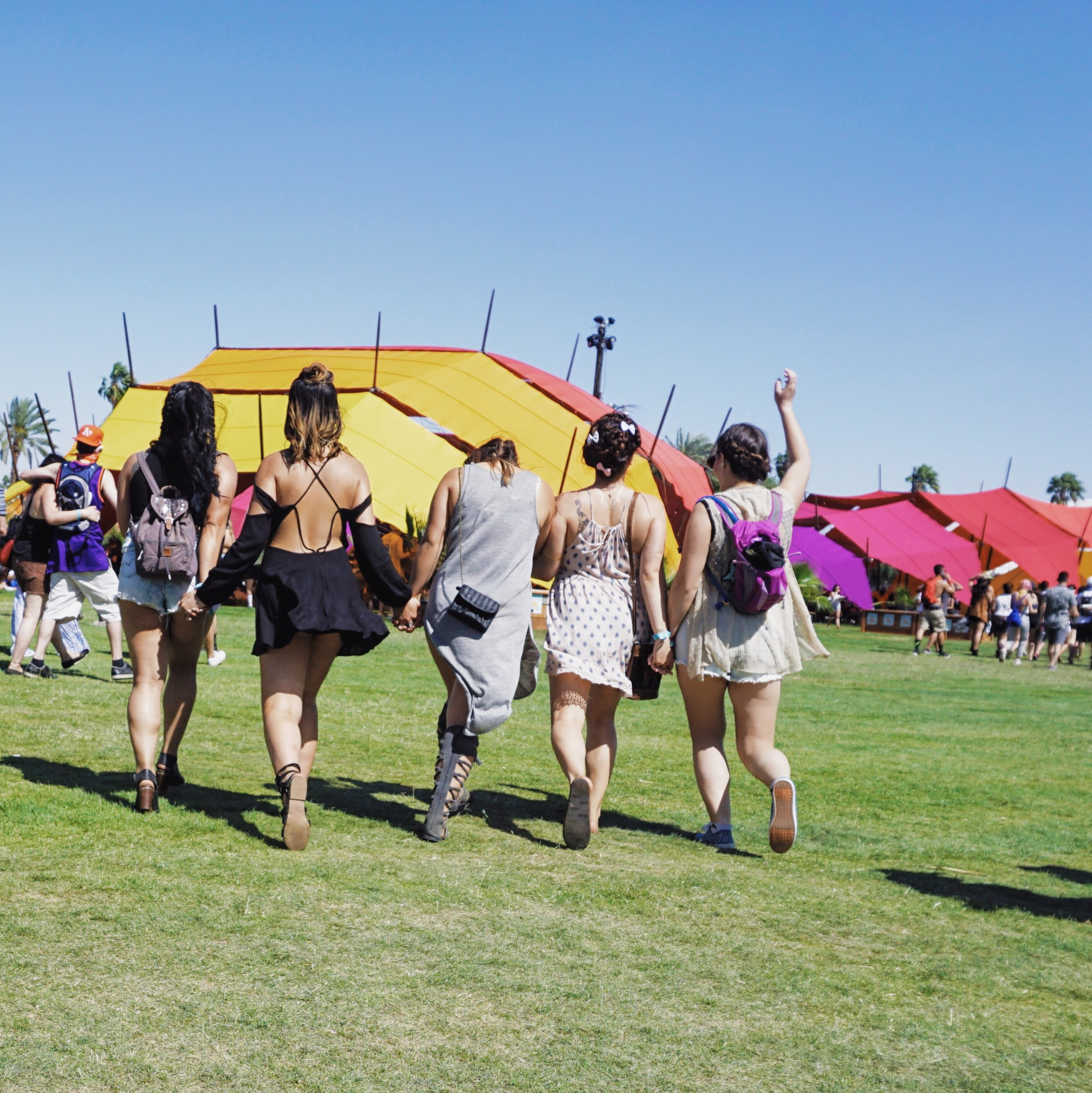 Exploring Coachella with Kamp Kawaii